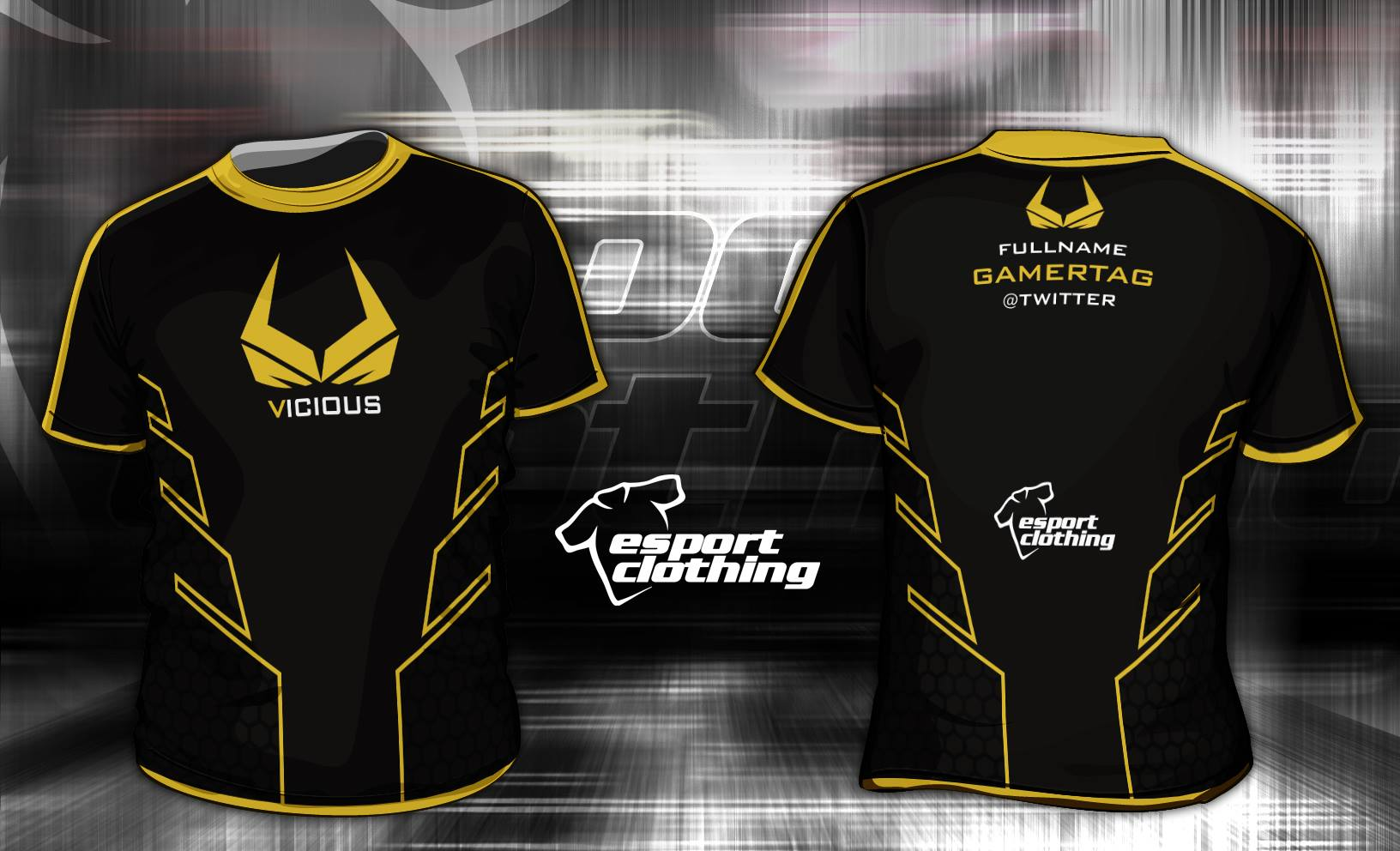 Vicious Gaming - Athlete Short Sleeve Jersey