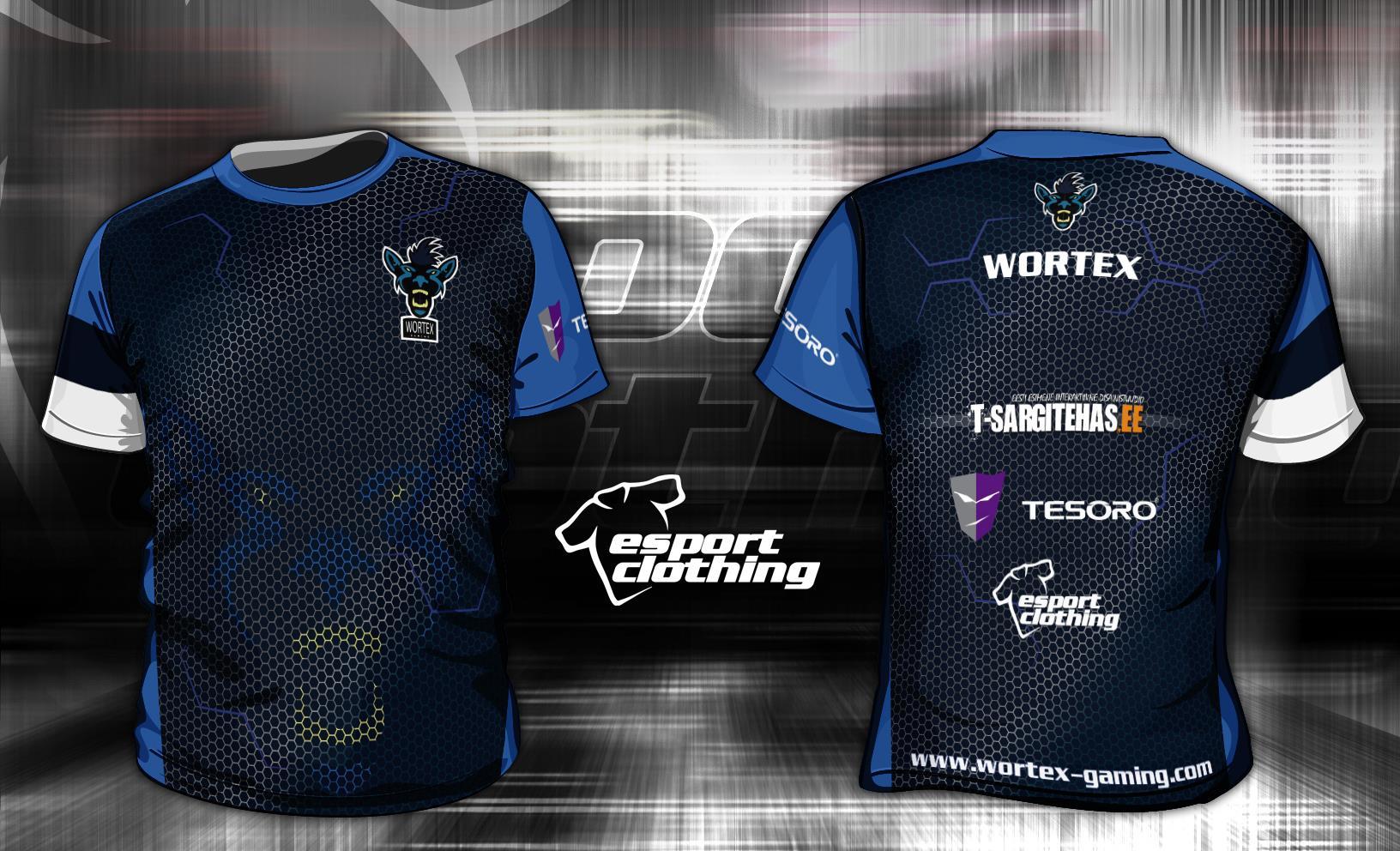 Wortex Gaming - Athlete Short Sleeve Jersey