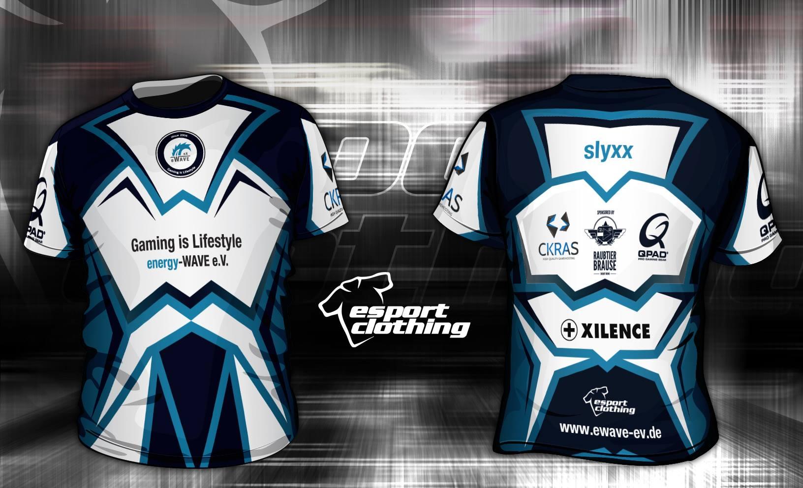 eWave eSports - Athlete Short Sleeve Jersey
