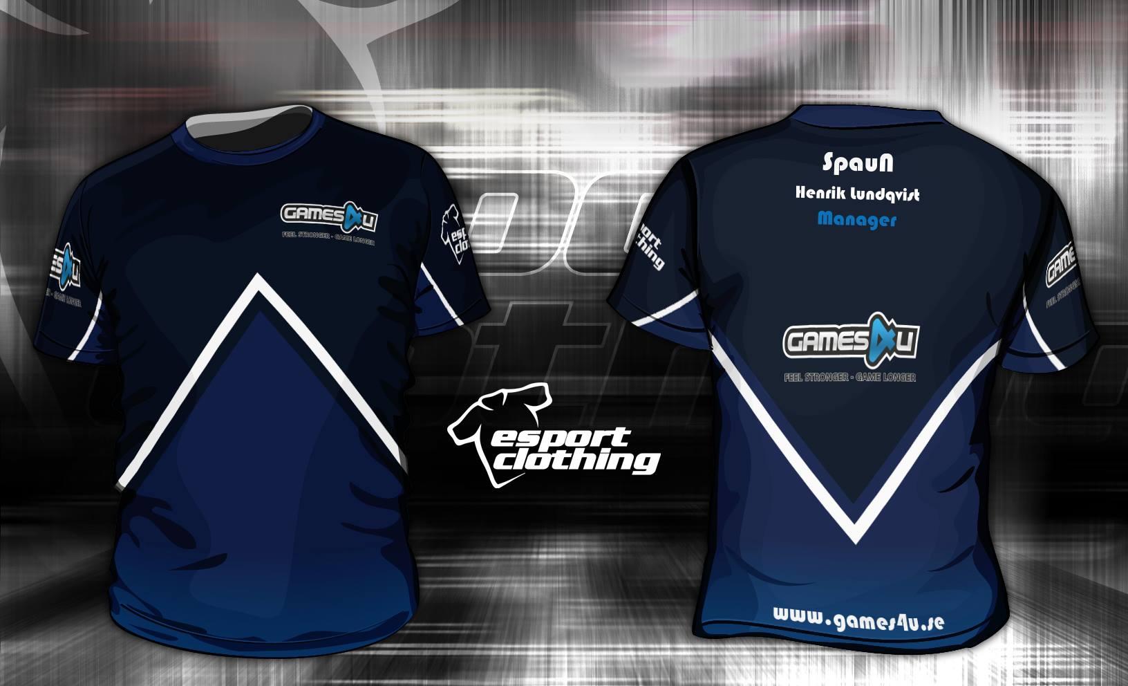 Games4u - Athlete Short Sleeve Jersey