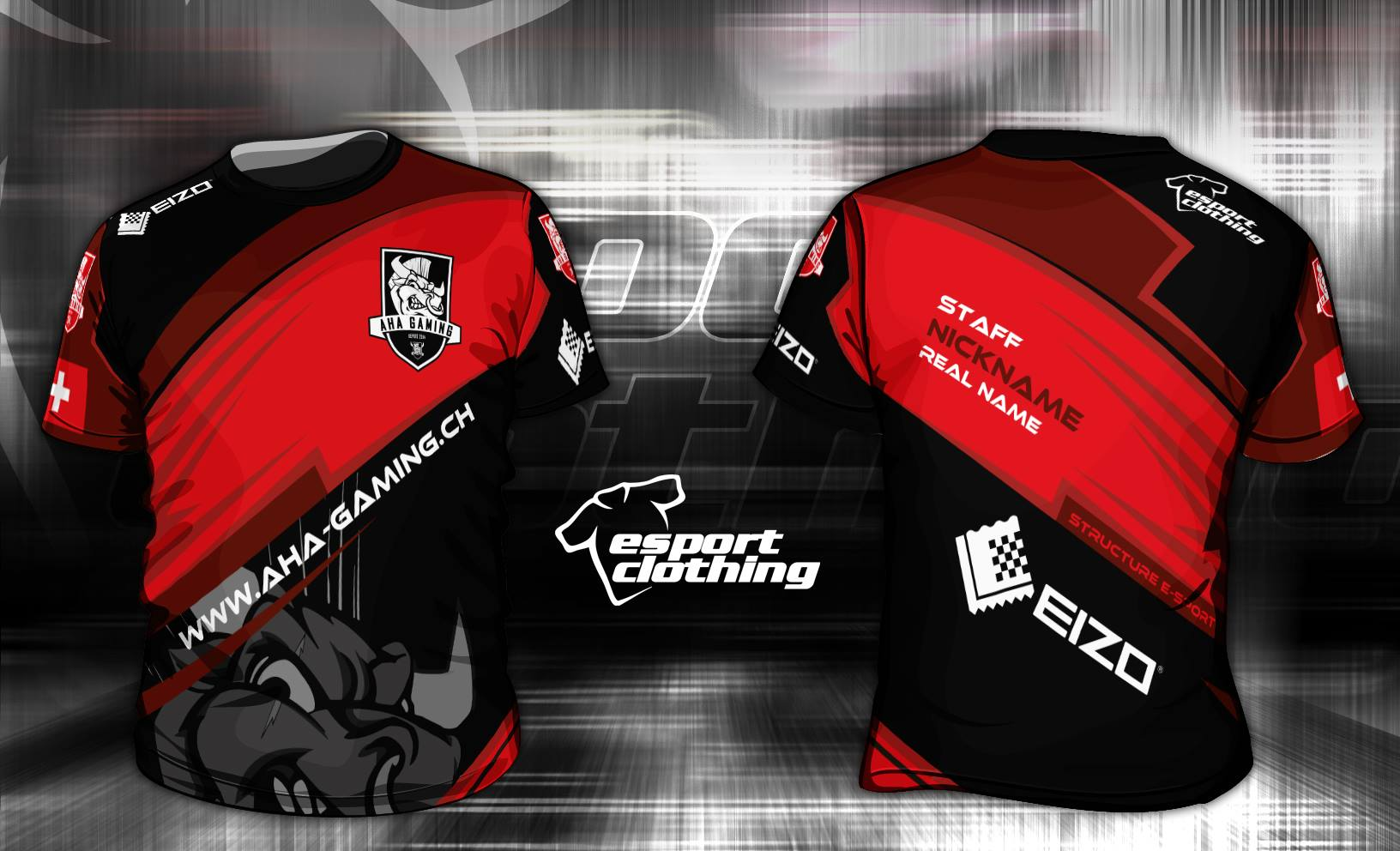 AHA Gaming - Athlete Short Sleeve Jersey