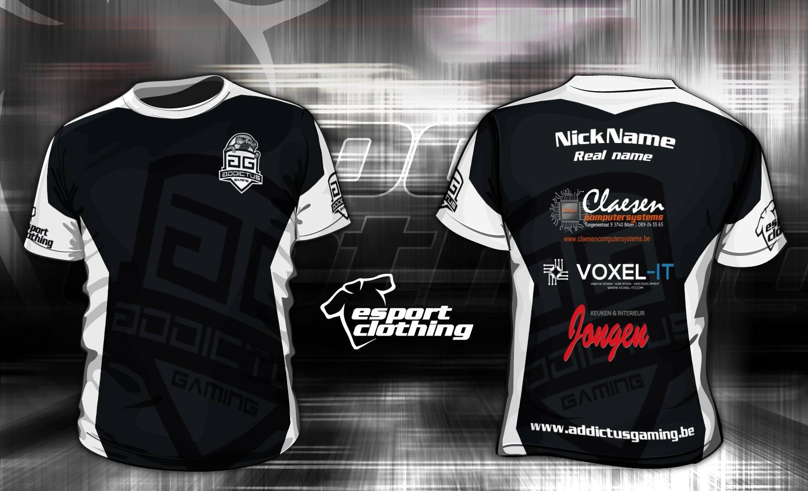 Addictus Gaming - Athlete Short Sleeve Jersey