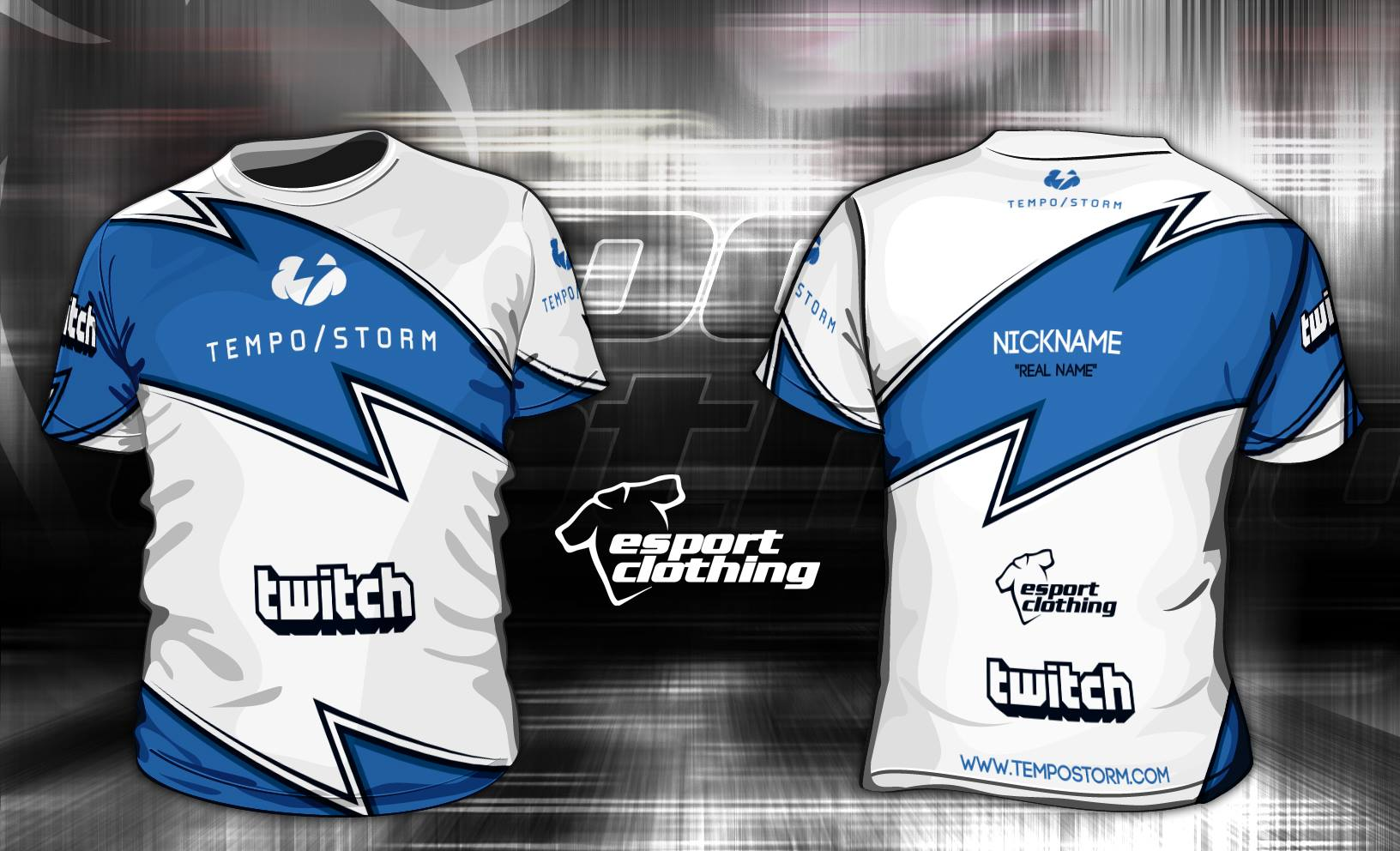 Tempo Storm- Athlete Short Sleeve Jersey
