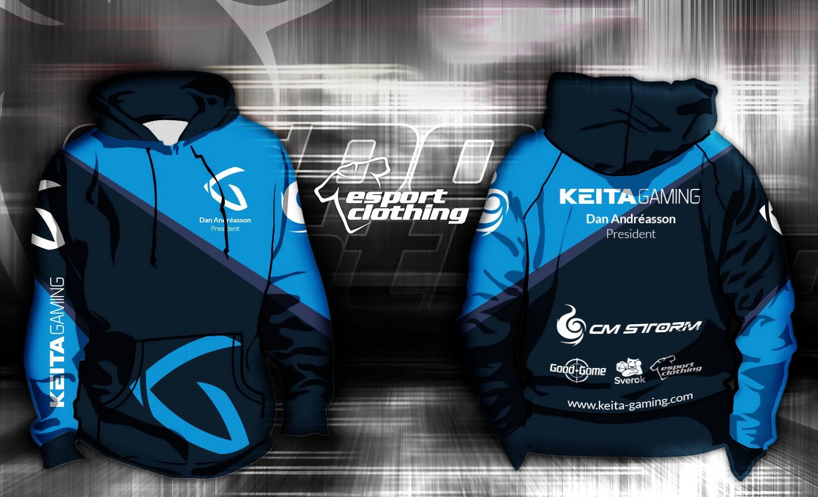 Keita Gaming - Athlete Pullover Hoodie