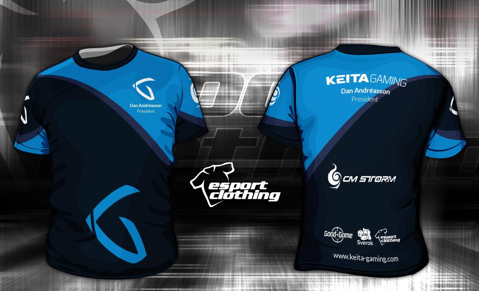 Keita Gaming - Athlete Short Sleeve Jersey