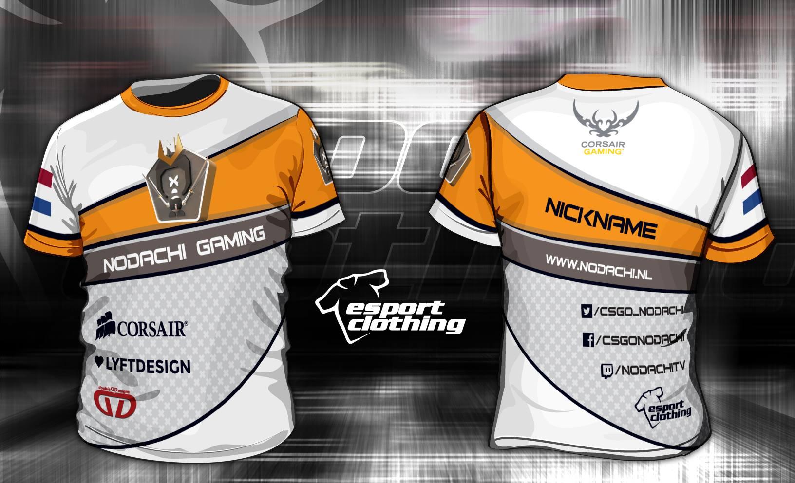 Nodachi Gaming - Athlete Short Sleeve Jersey