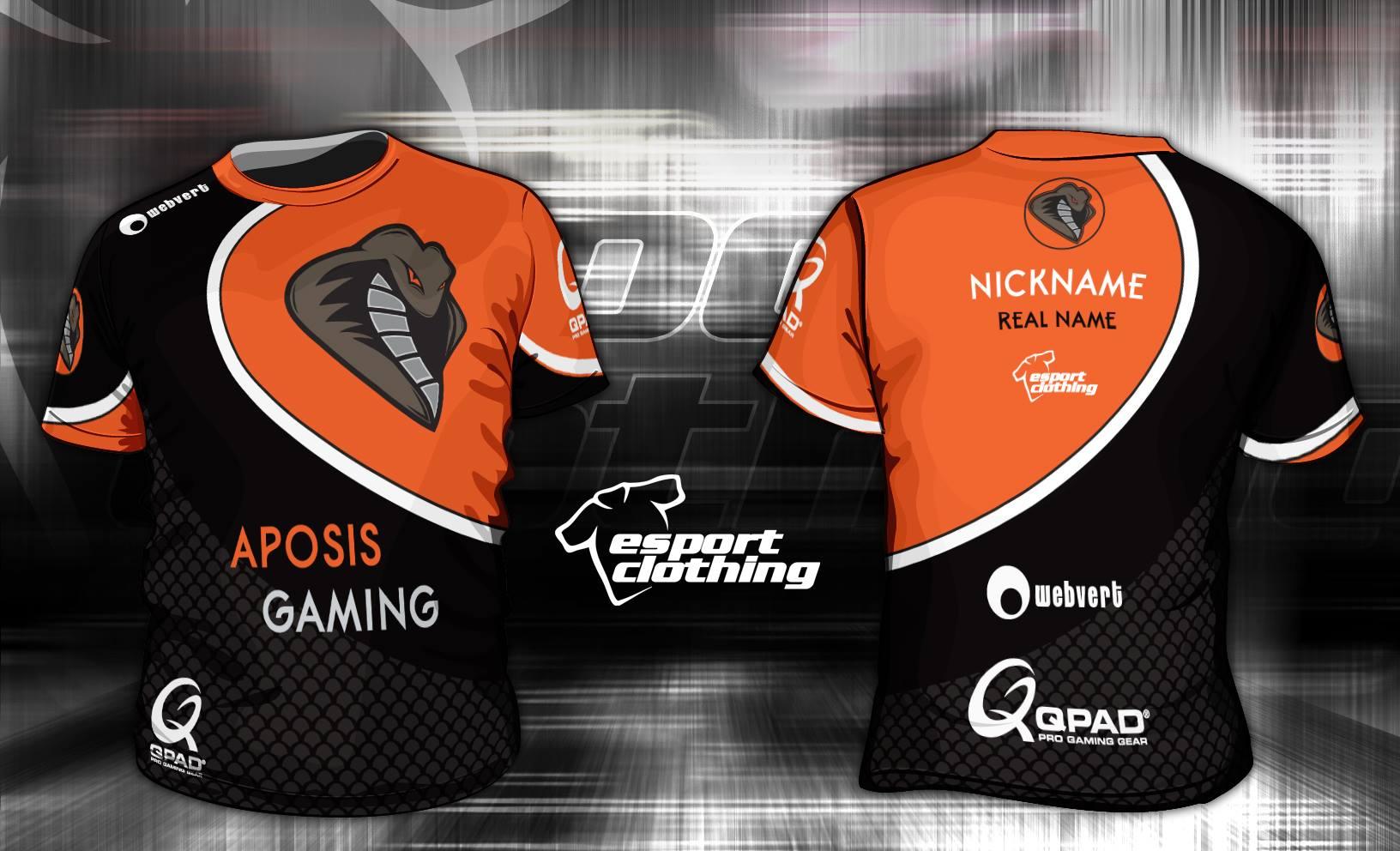 Aposis Gaming - Athlete Short Sleeve Jersey