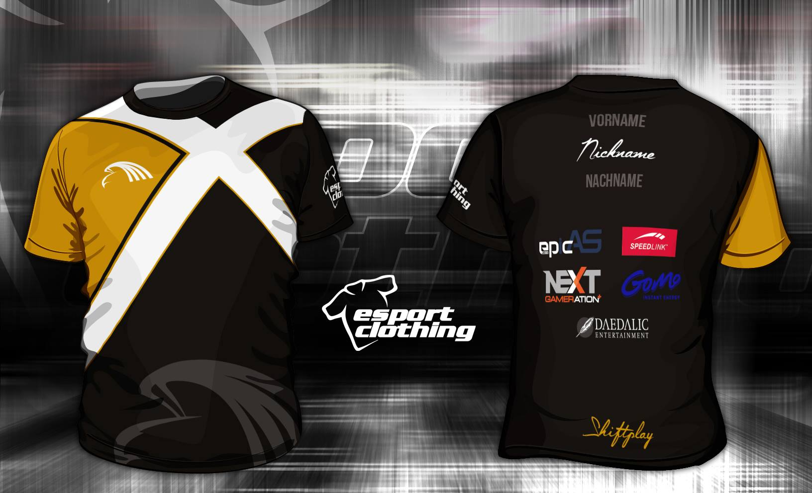 Shift Gaming - Athlete Short Sleeve Jersey