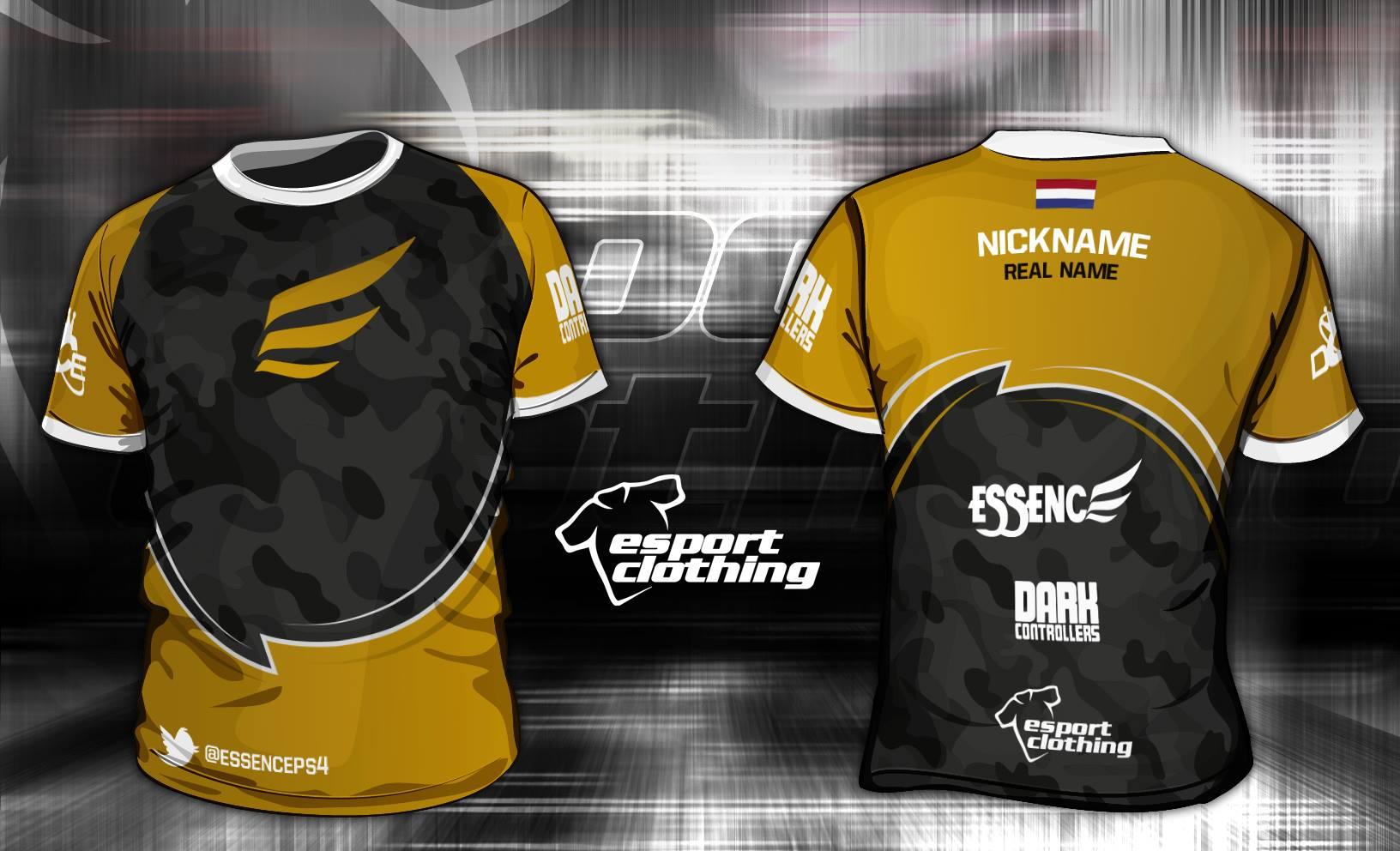 Essence Gaming - Athlete Short Sleeve Jersey