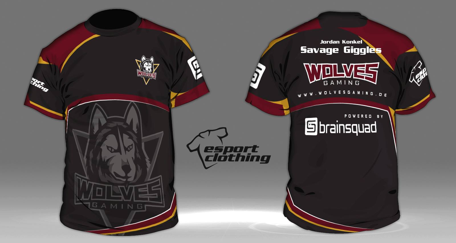 Wolves Gaming - Athlete Short Sleeve Jersey