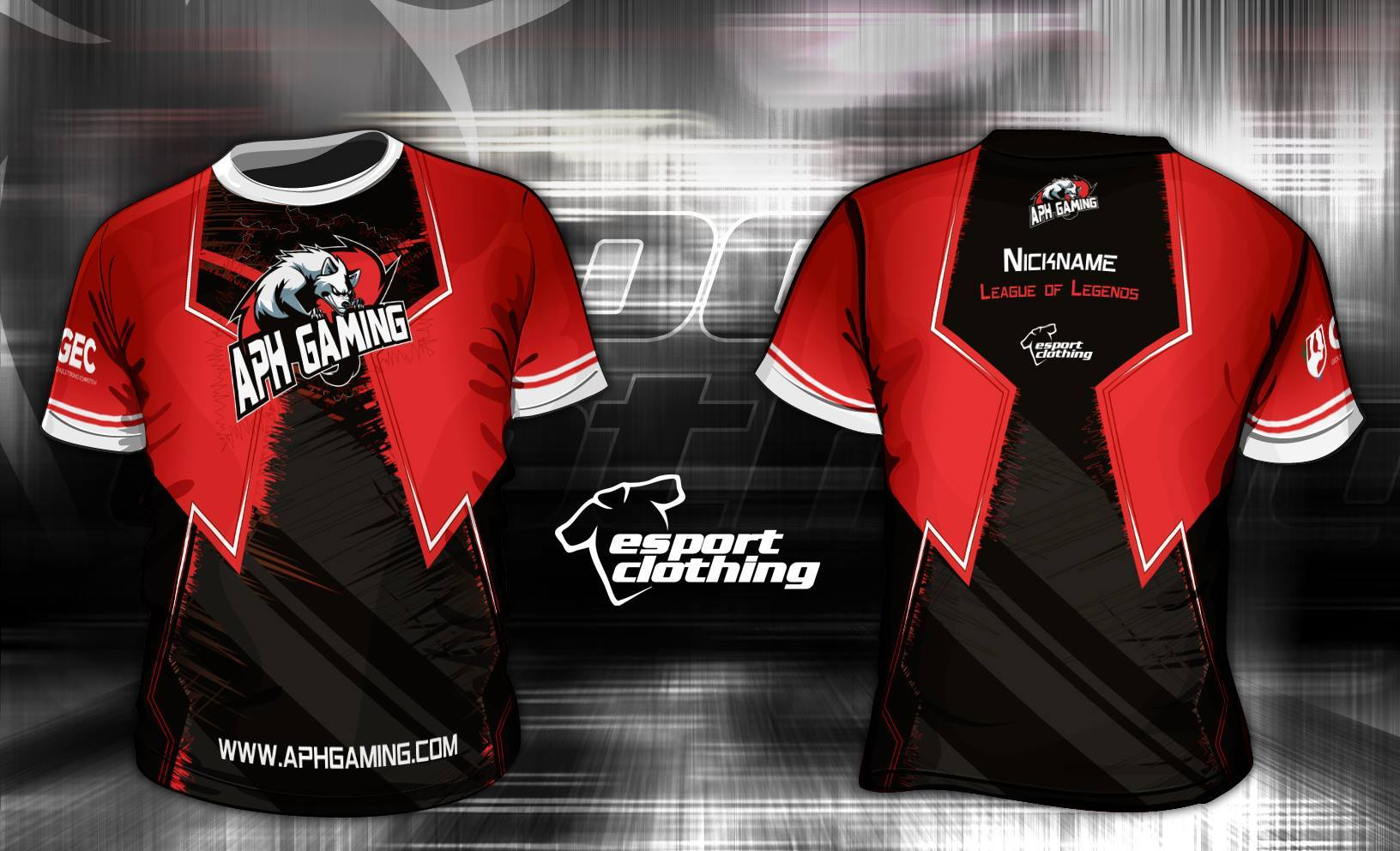 APH Gaming - Athlete Short Sleeve Jersey