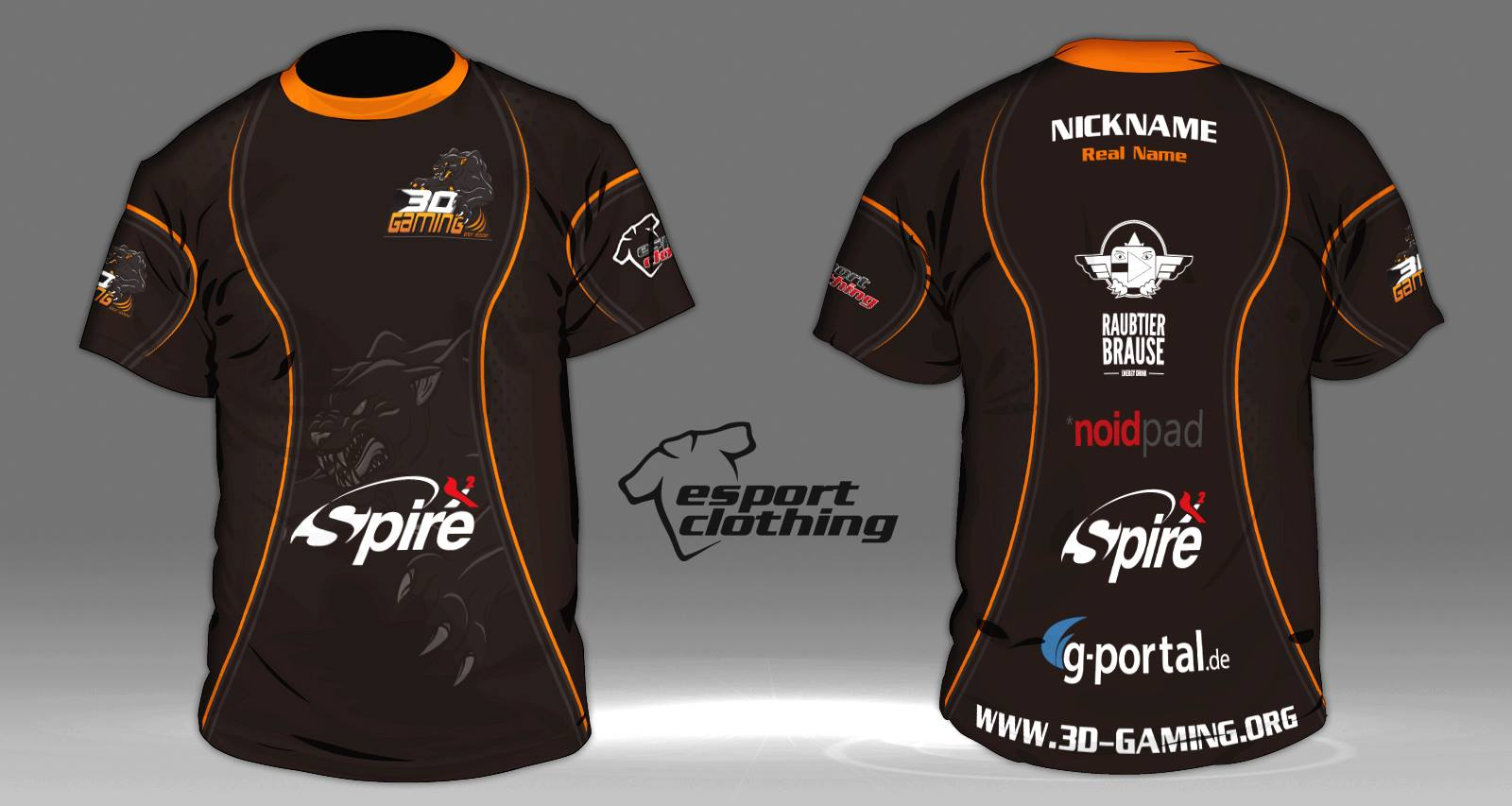 3D Gaming - Athlete Short Sleeve Jersey
