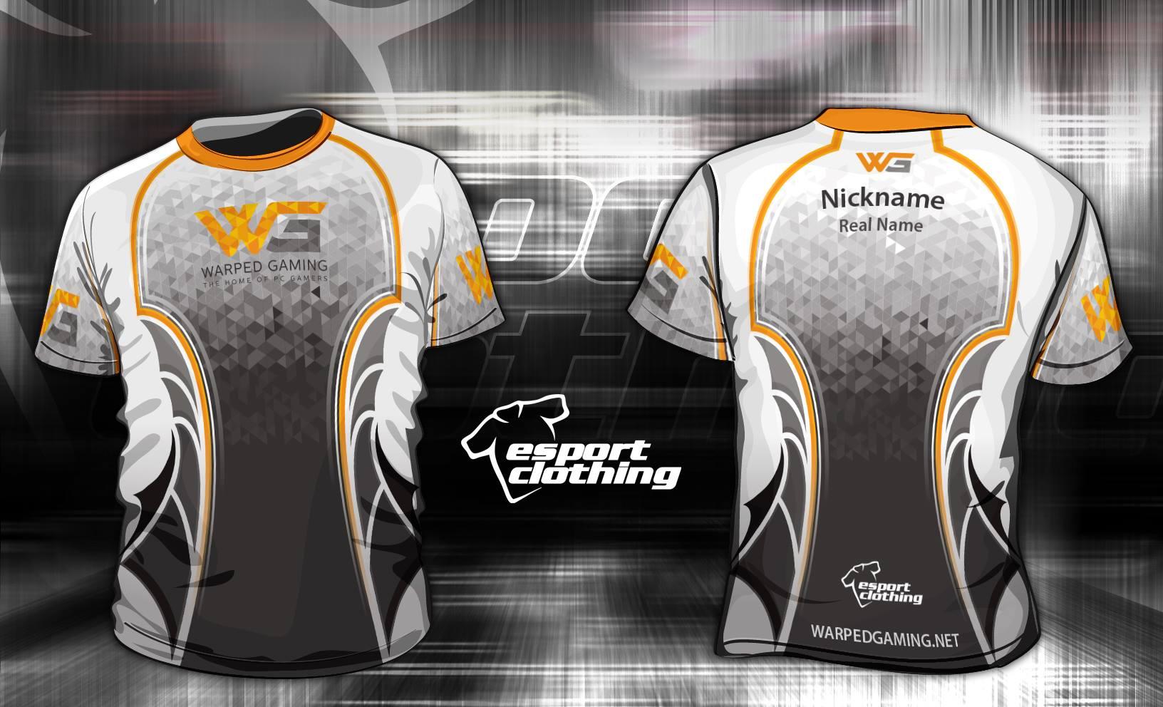 Warped Gaming - Athlete Short Sleeve Jersey