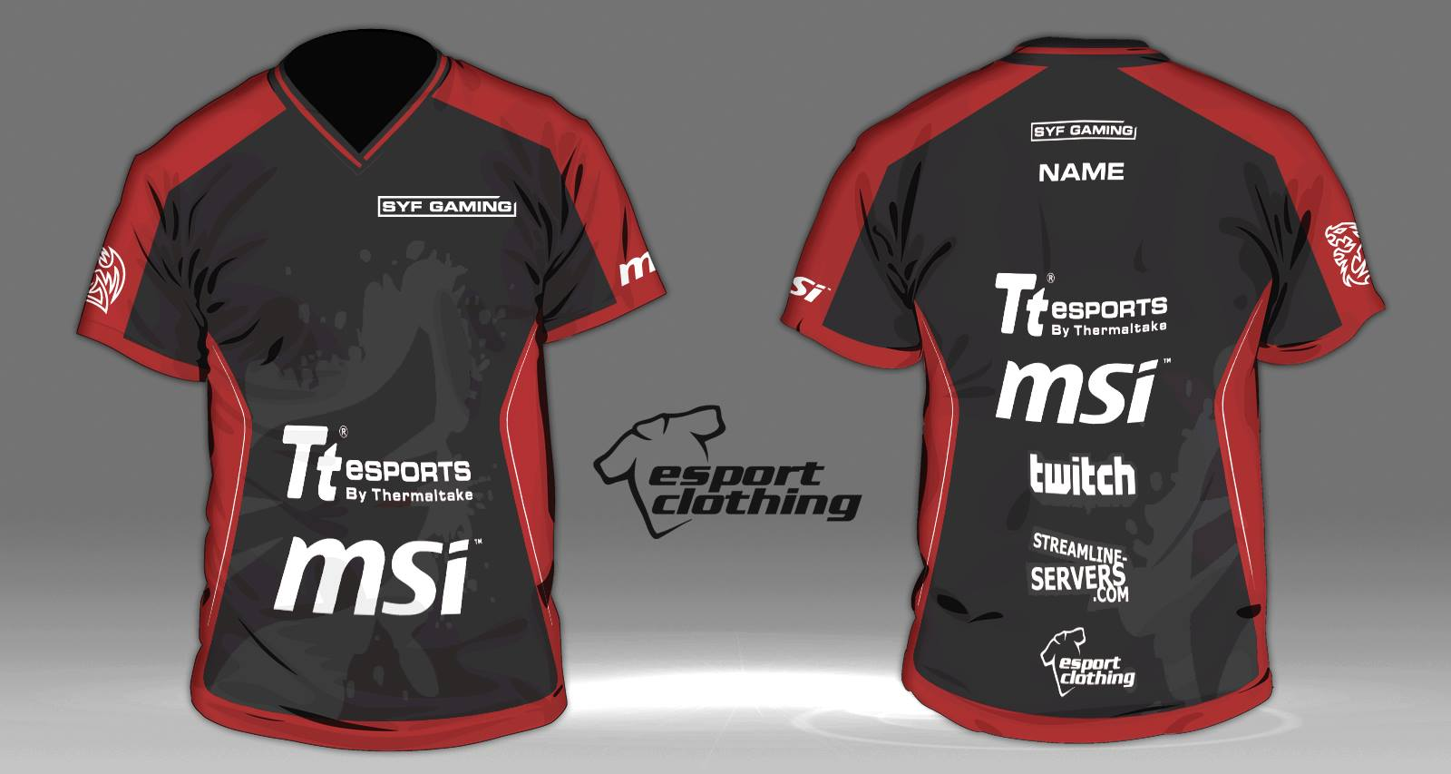 SYF Gaming - Athlete Short Sleeve Jersey
