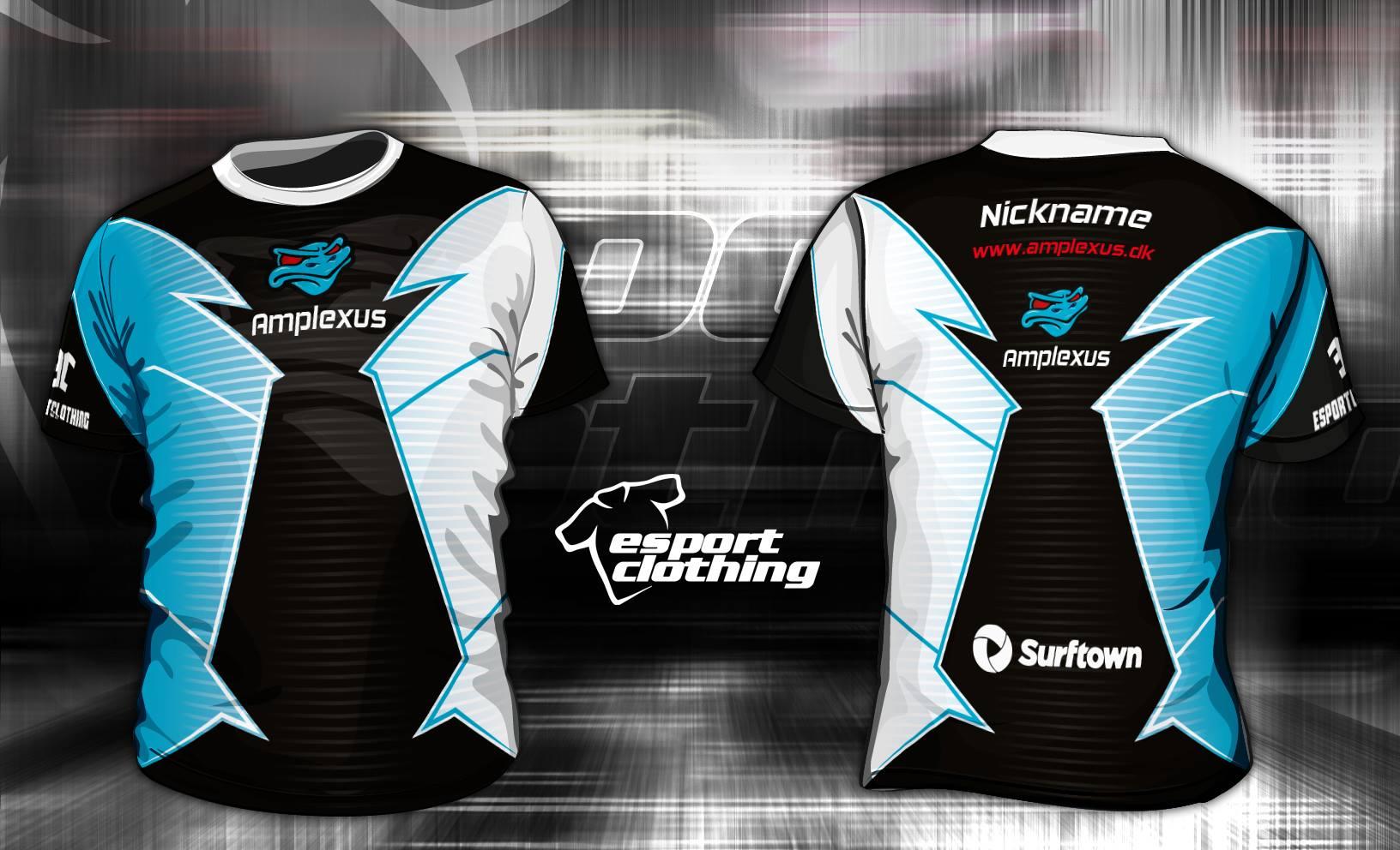 Amplexus eSports - Athlete Short Sleeve Jersey