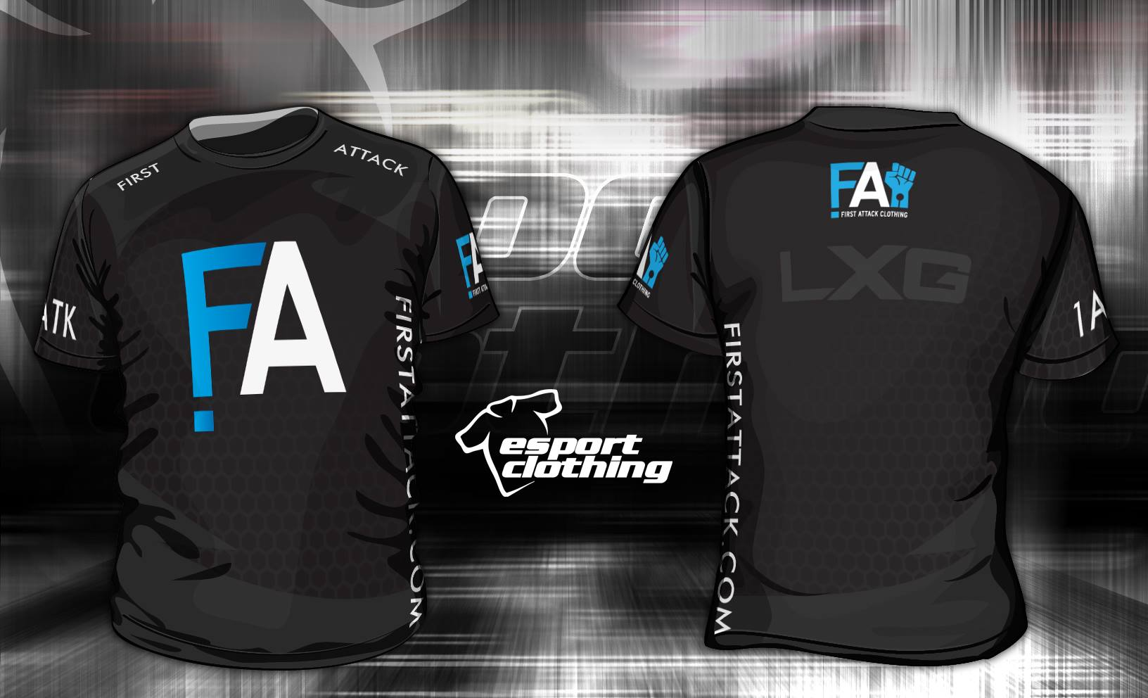 First Attack - Athlete Short Sleeve Jersey