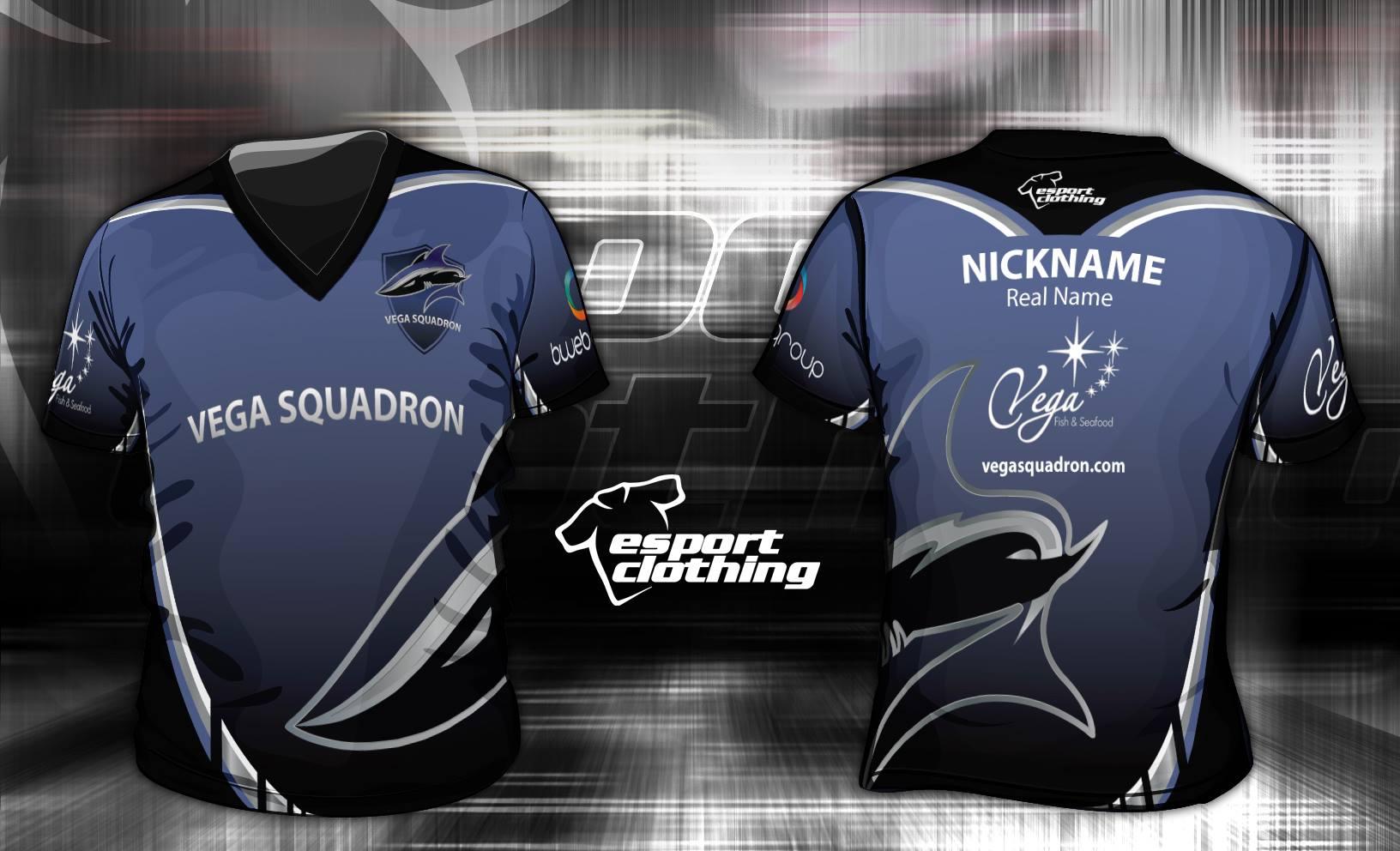 Vega Squardon - Athlete Short Sleeve Jersey
