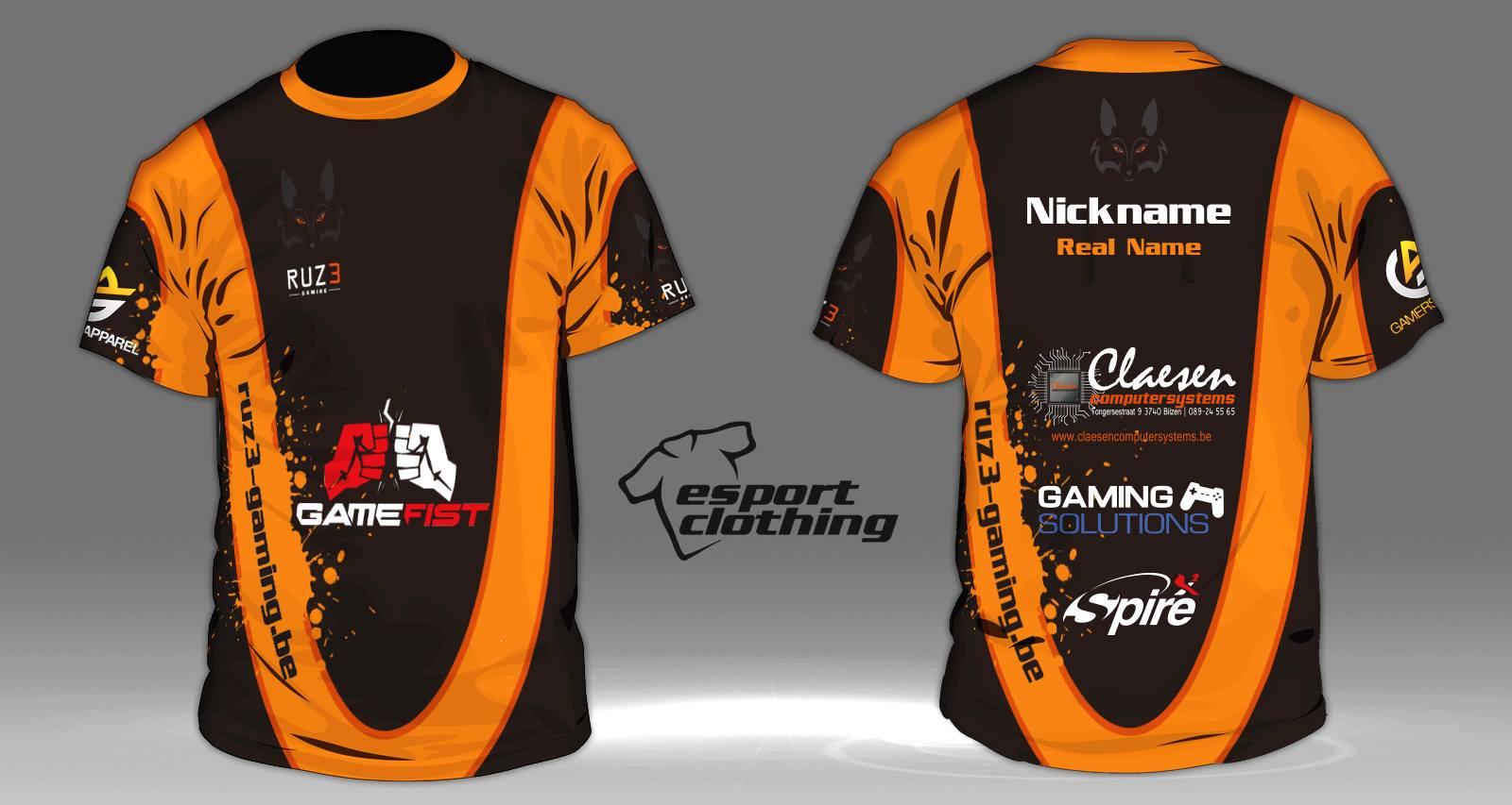 RUZ3 Gaming - Athlete Short Sleeve Jersey