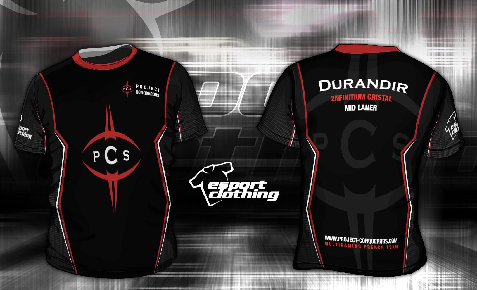 PCS Gaming - Athlete Short Sleeve Jersey