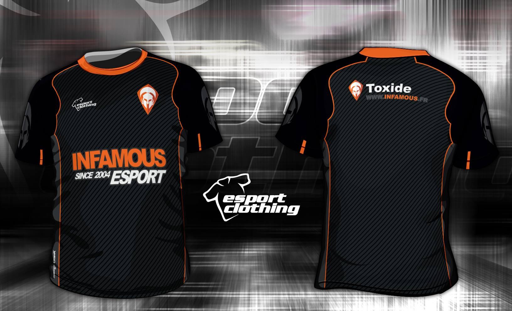 Infamous eSports - Athlete Short Sleeve Jersey