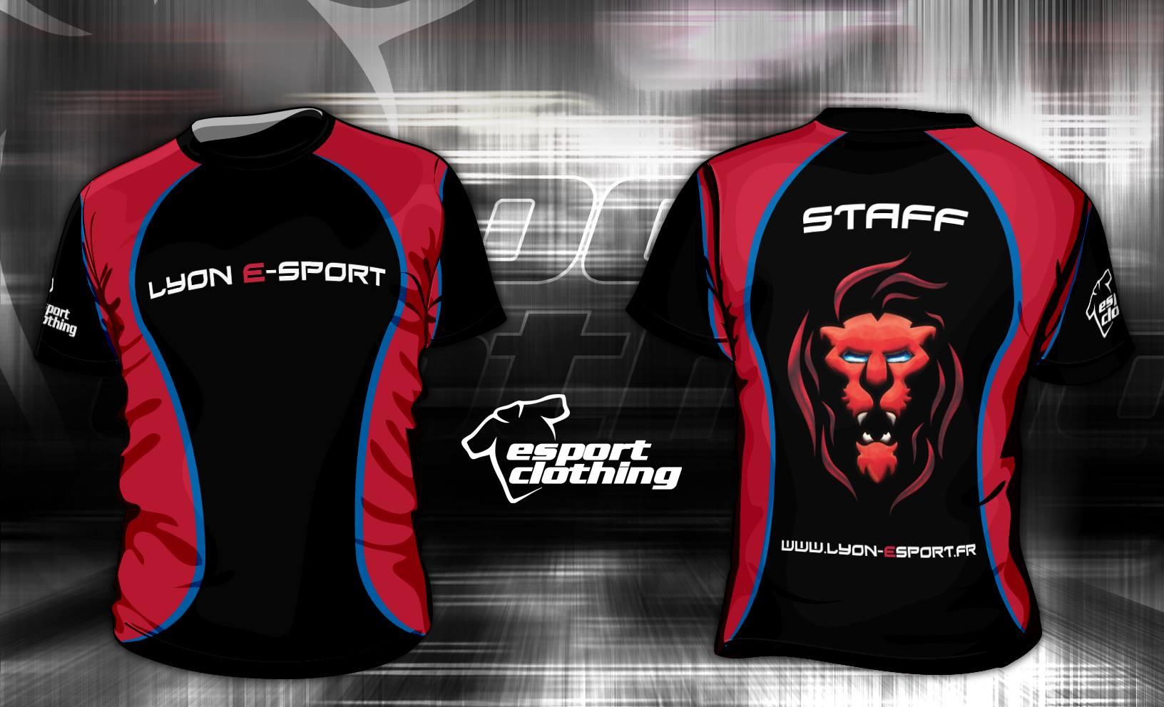 Lyon eSports - Athlete Short Sleeve Jersey