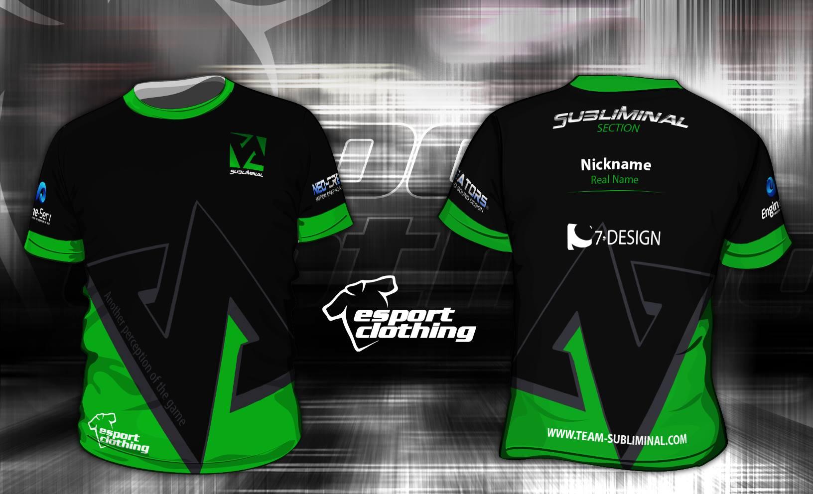 Subliminal eSports - Athlete Short Sleeve Jersey