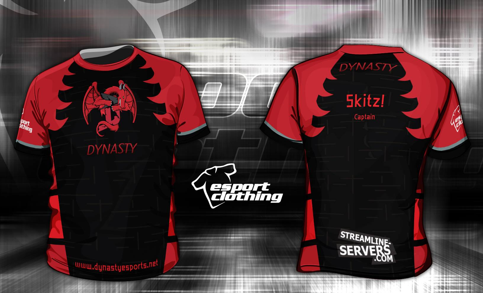 Dynasty Gaming - Athlete Short Sleeve Jersey