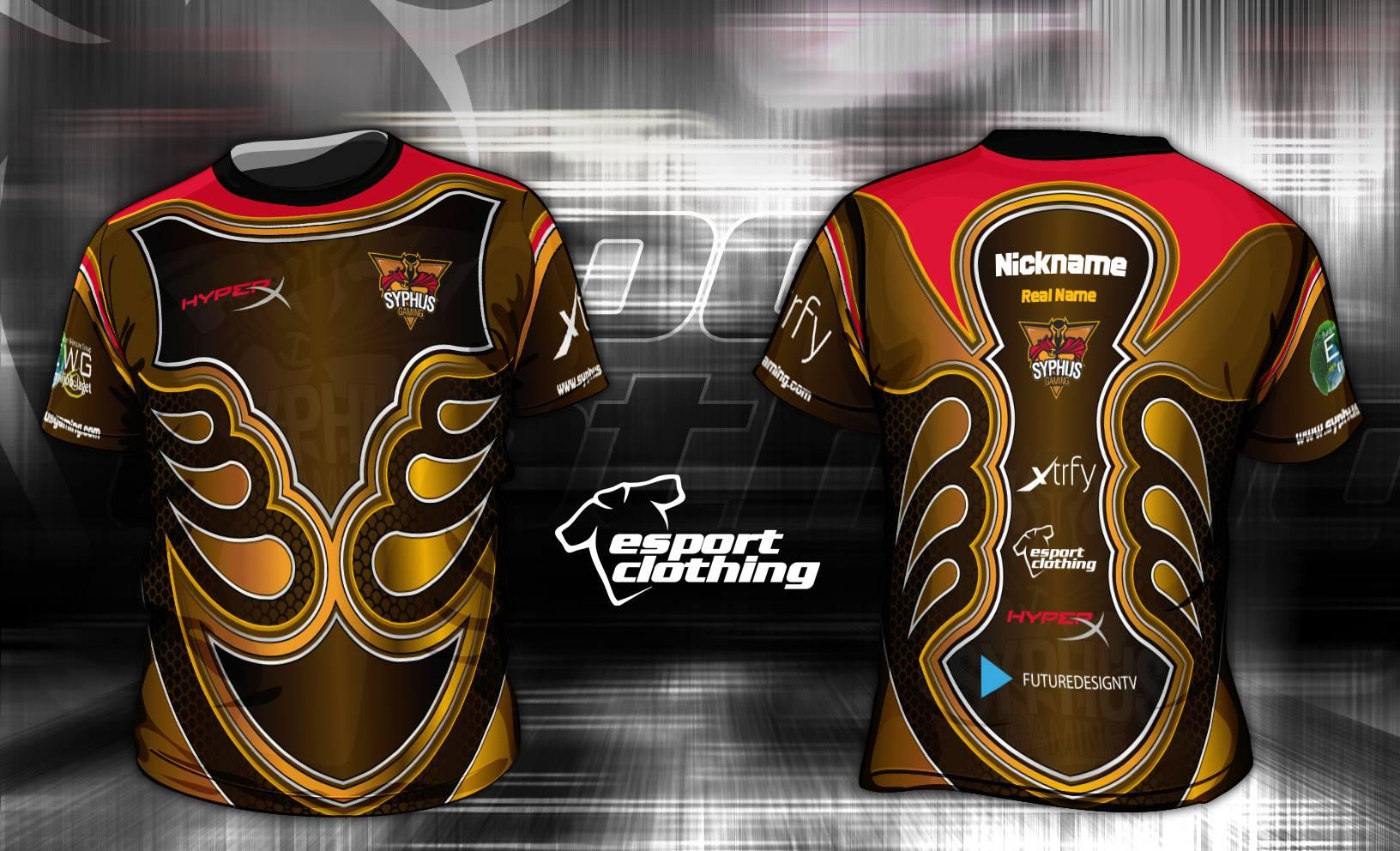 Syphus Gaming - Athlete Short Sleeve Jersey