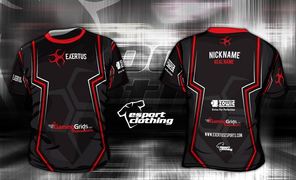 Exertus eSports - Athlete Short Sleeve Jersey