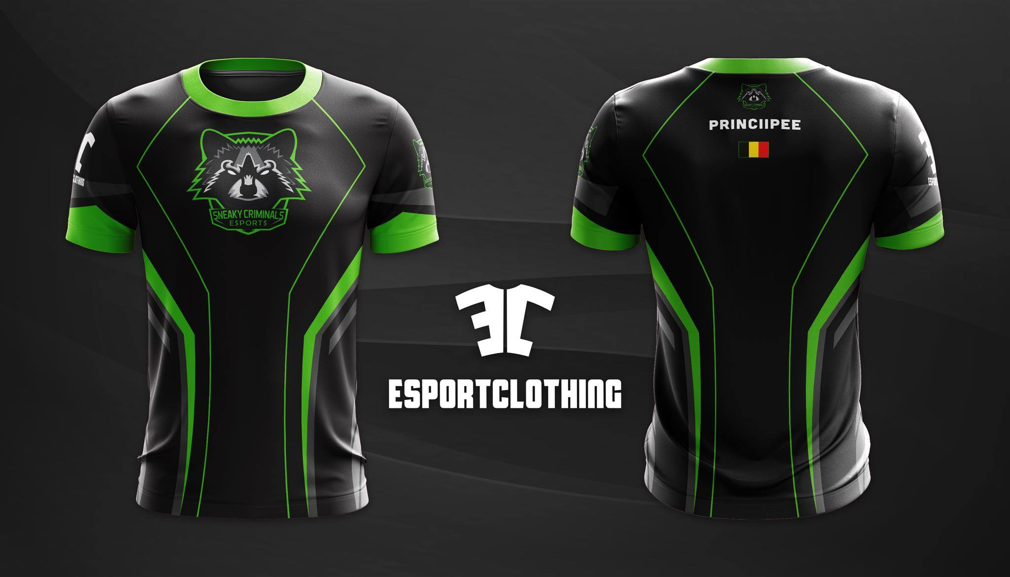 Sneaky Criminals Esports - Athlete Short Sleeve Jersey