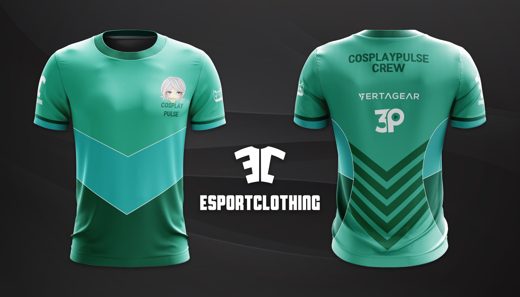 Cosplay Pulse - Athlete Short Sleeve Jersey