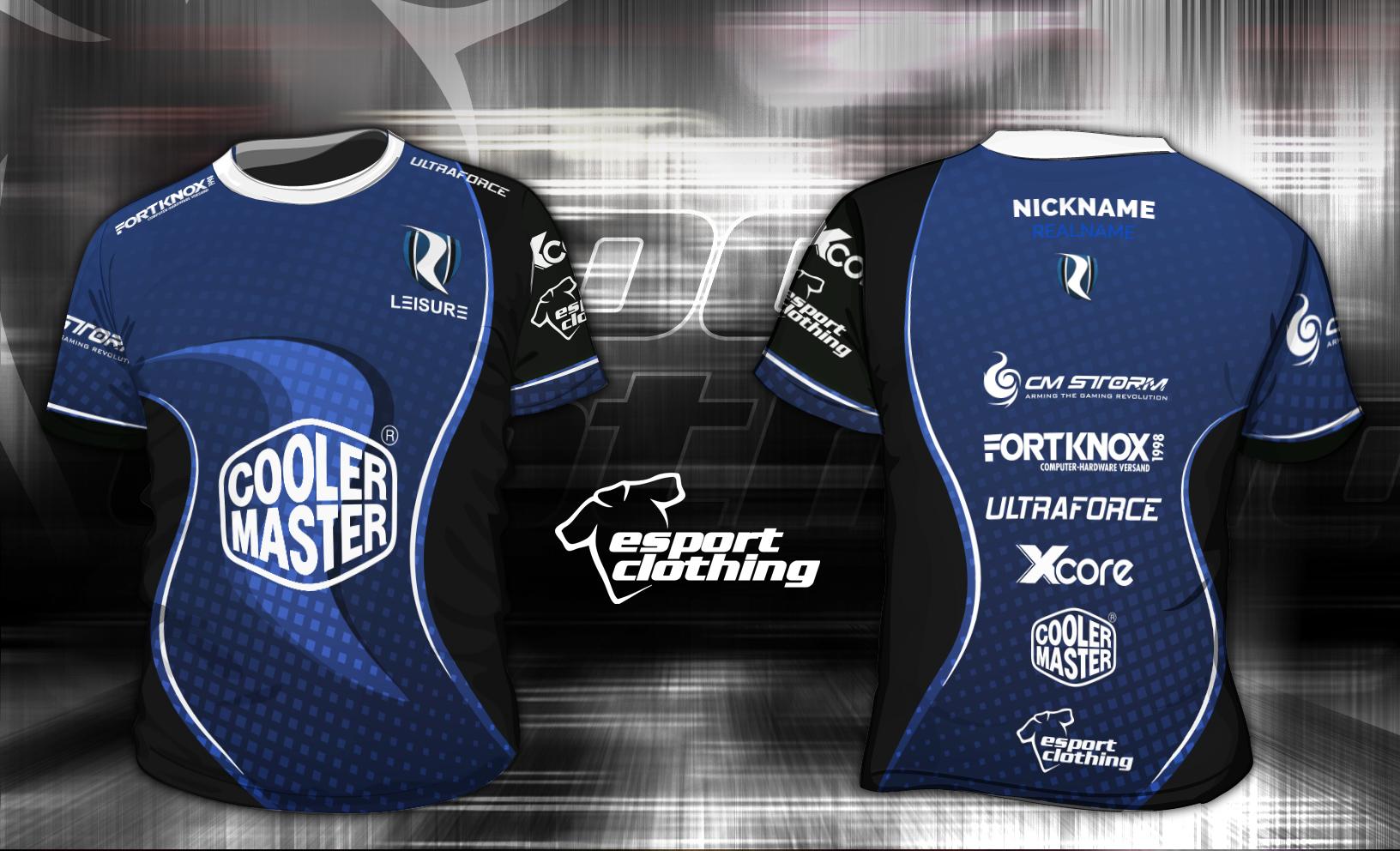 Leisure Gaming - Athlete Short Sleeve Jersey