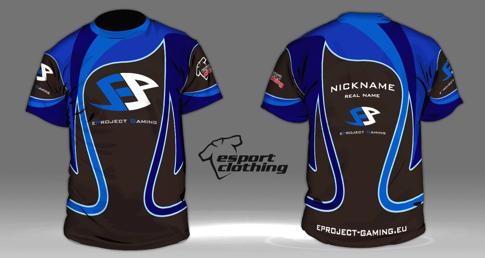eProject Gaming - Athlete Short Sleeve Jersey