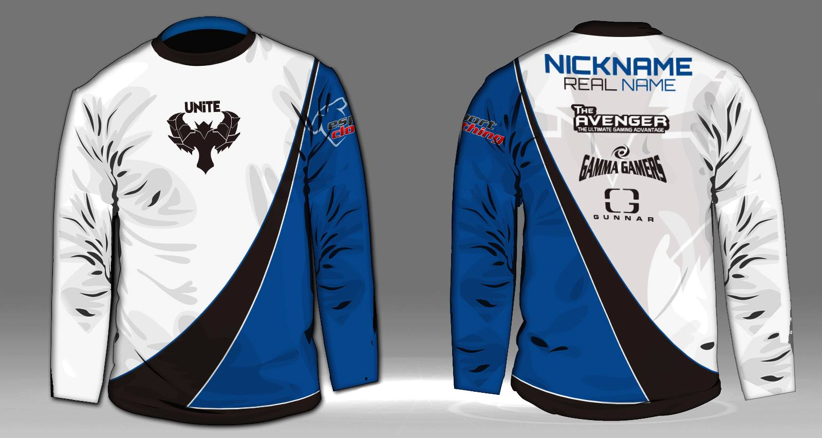Unite Gaming - Athlete Long Sleeve Jersey