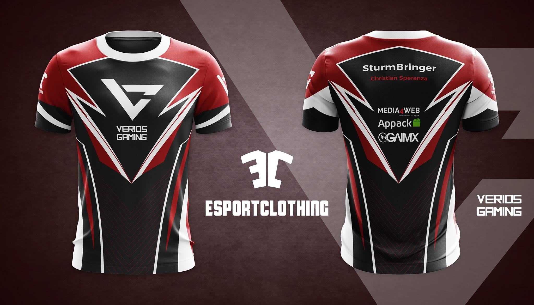 Verios Gaming - Athlete Short Sleeve Jersey