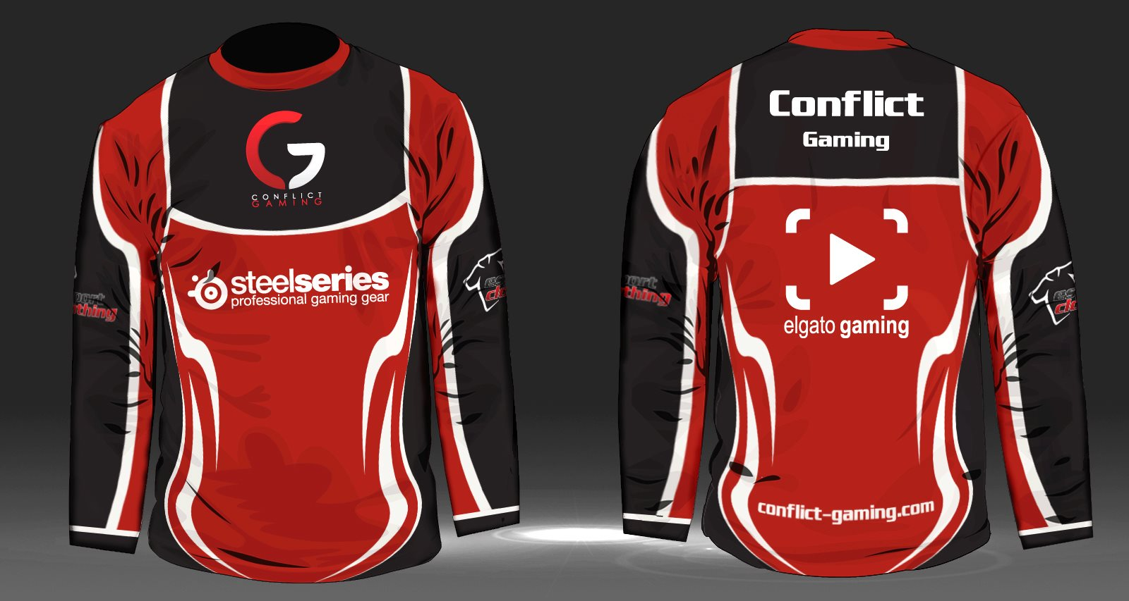 Conflict Gaming - Athlete Long Sleeve Jersey