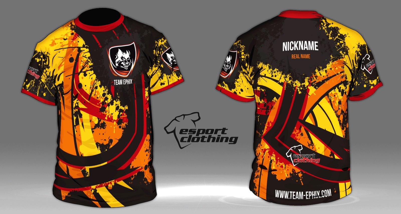 Team Epixs - Athlete Short Sleeve Jersey
