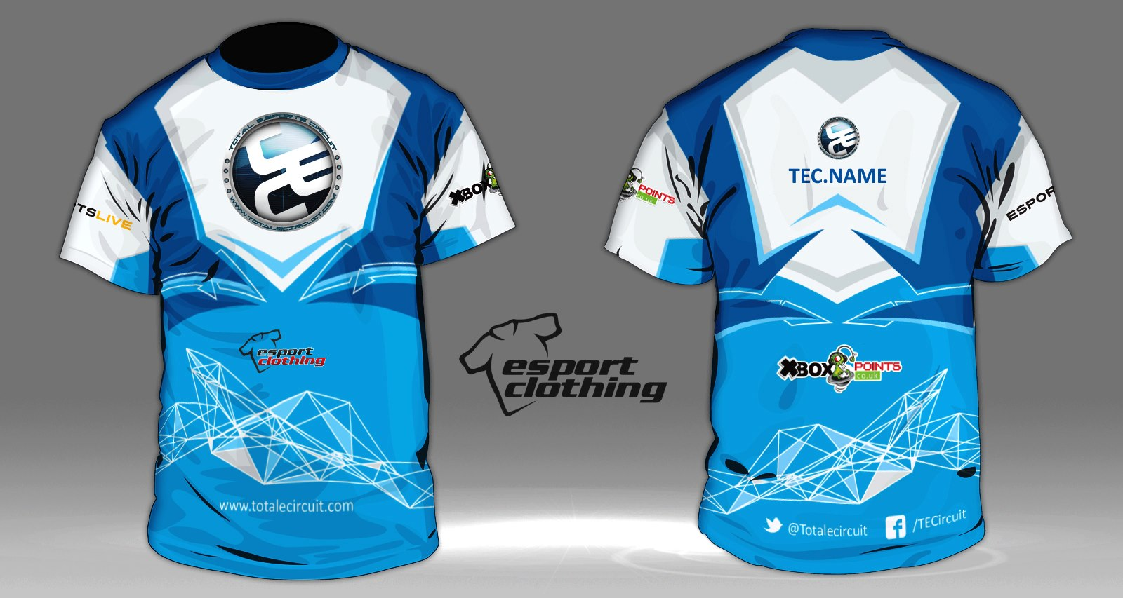 TEC Gaming - Athlete Short Sleeve Jersey