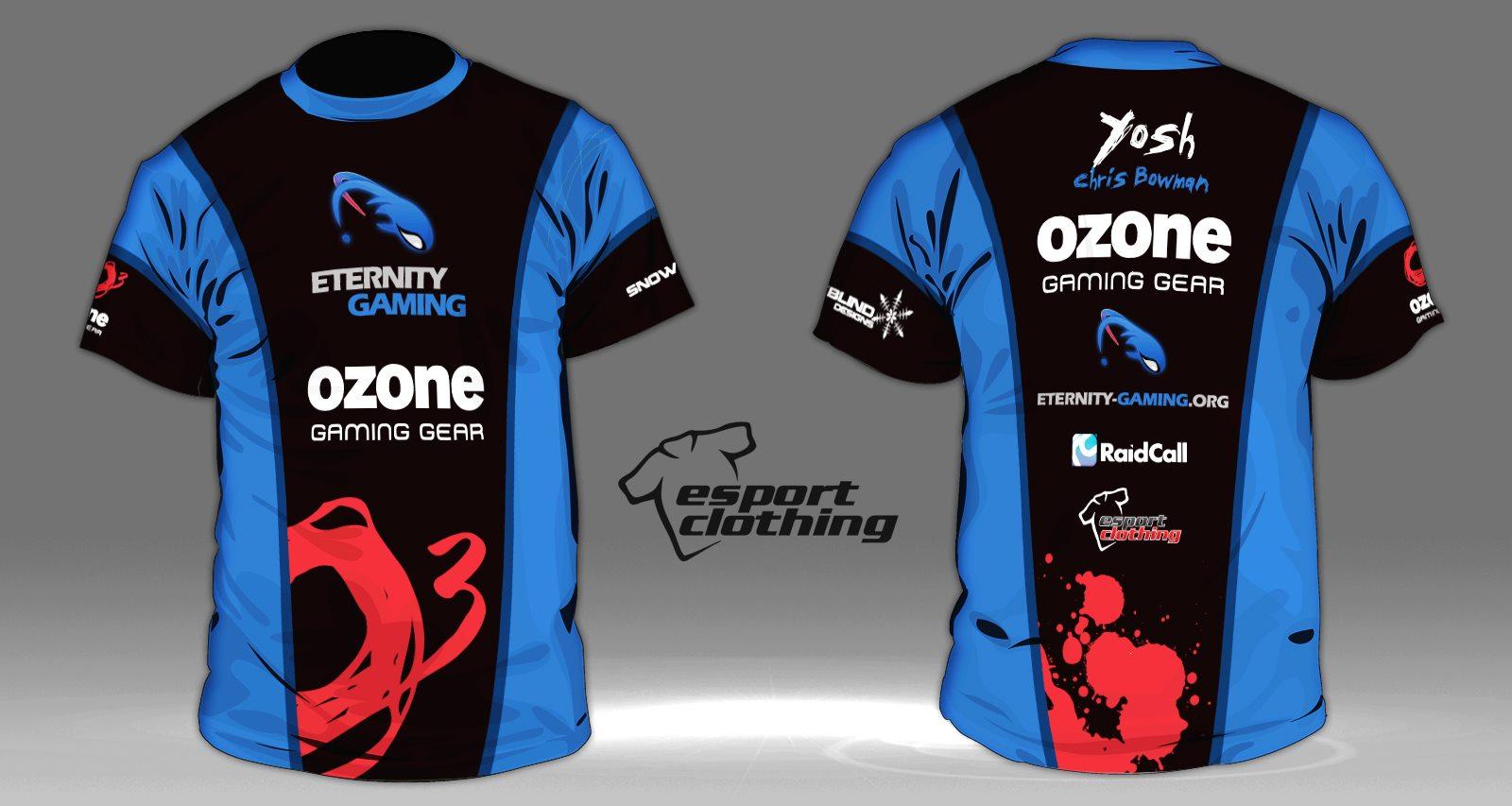 Eternity Gaming - Athlete Short Sleeve Jersey
