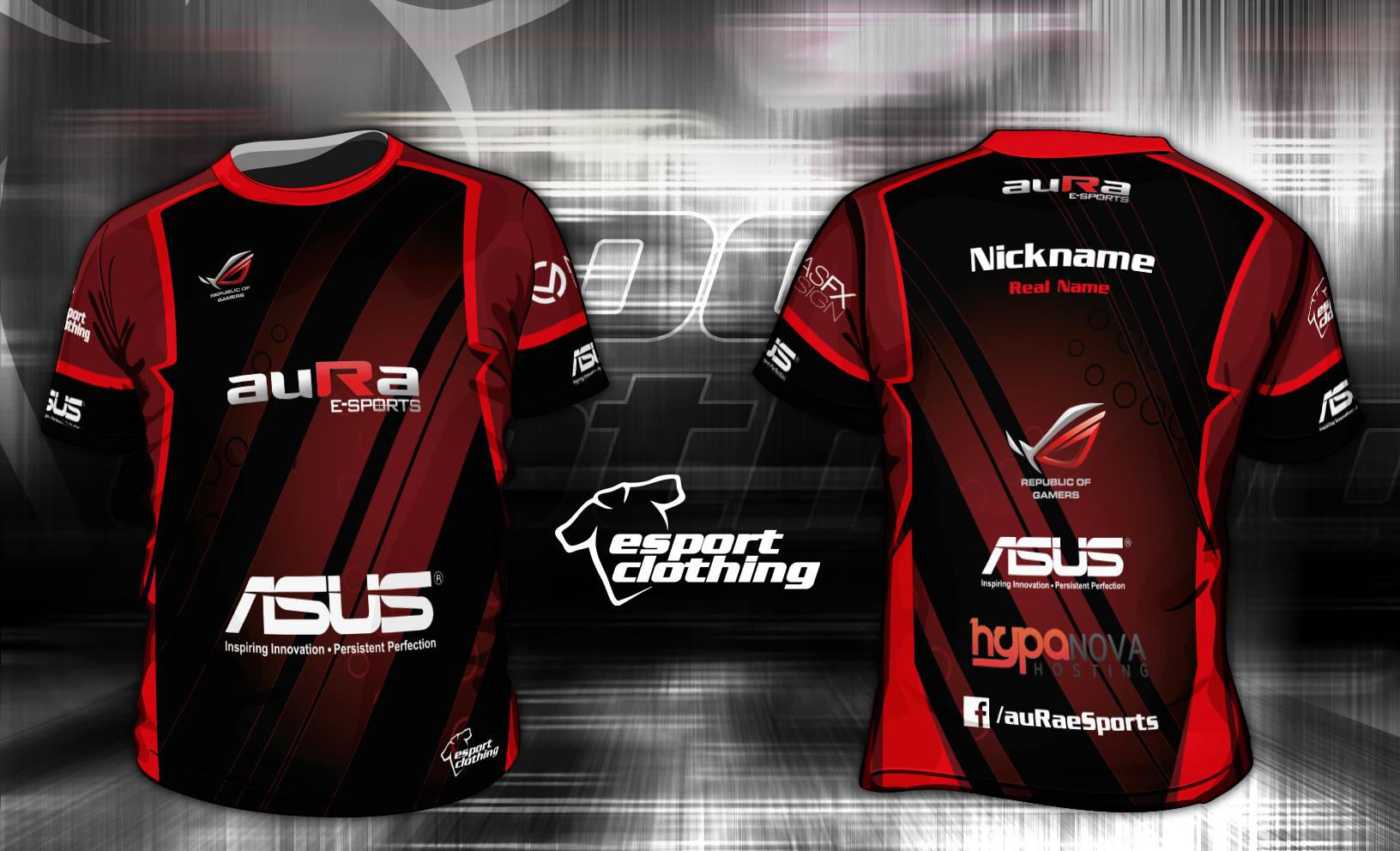 Aura eSports - Athlete Short Sleeve Jersey