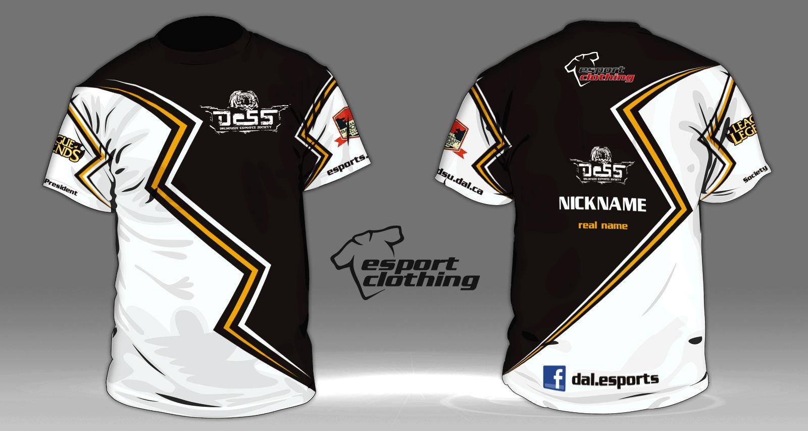 Dess eSports - Athlete Short Sleeve Jersey