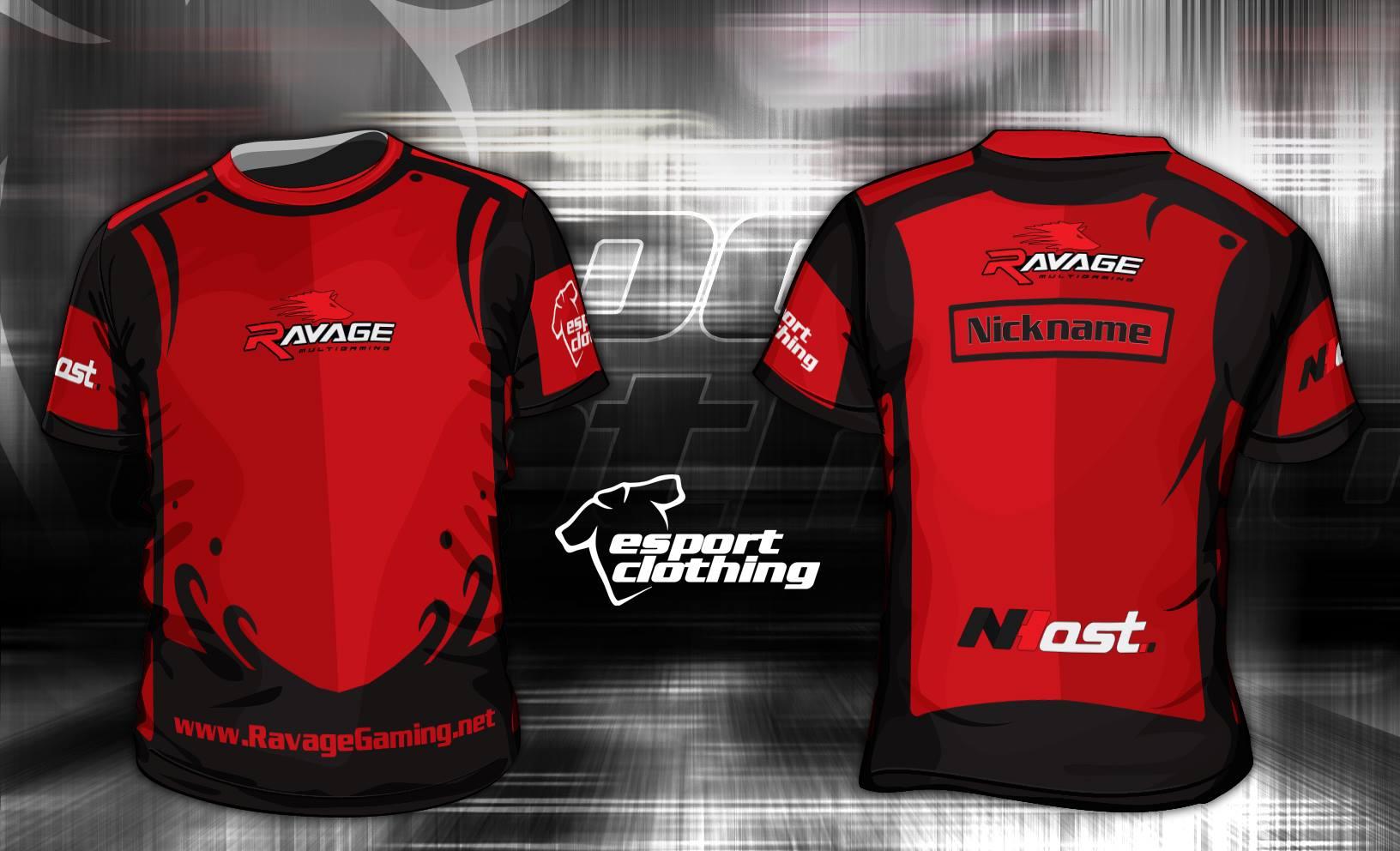 Ravage Gaming - Athlete Short Sleeve Jersey