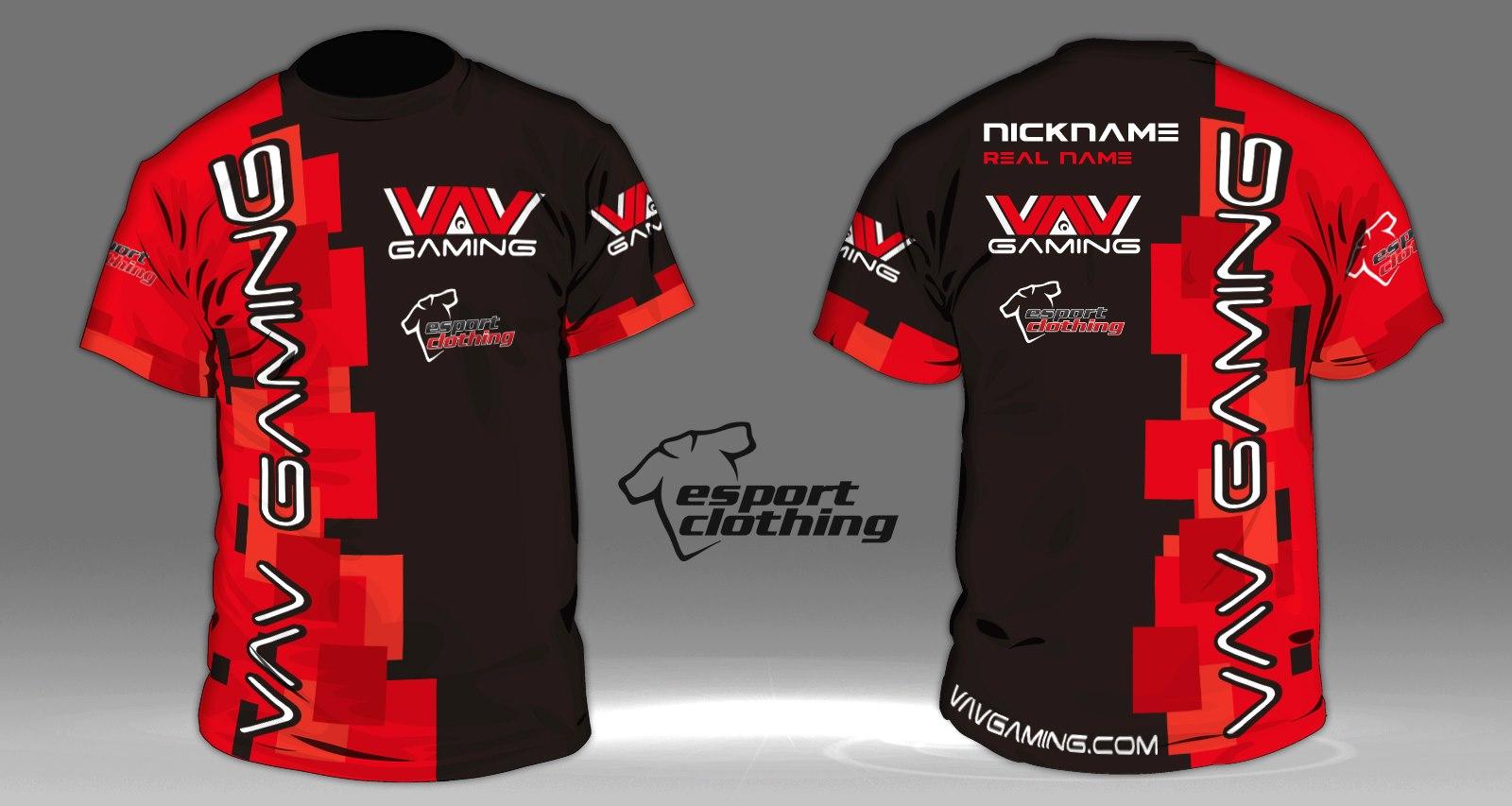 VAV Gaming - Athlete Short Sleeve Jersey
