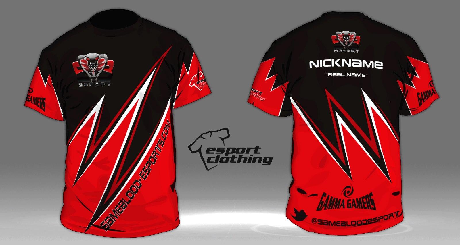 Same Blood eSports - Athlete Short Sleeve Jersey