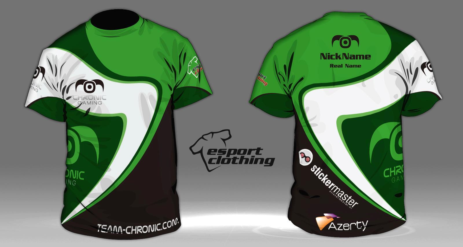 Chronic Gaming - Athlete Short Sleeve Jersey