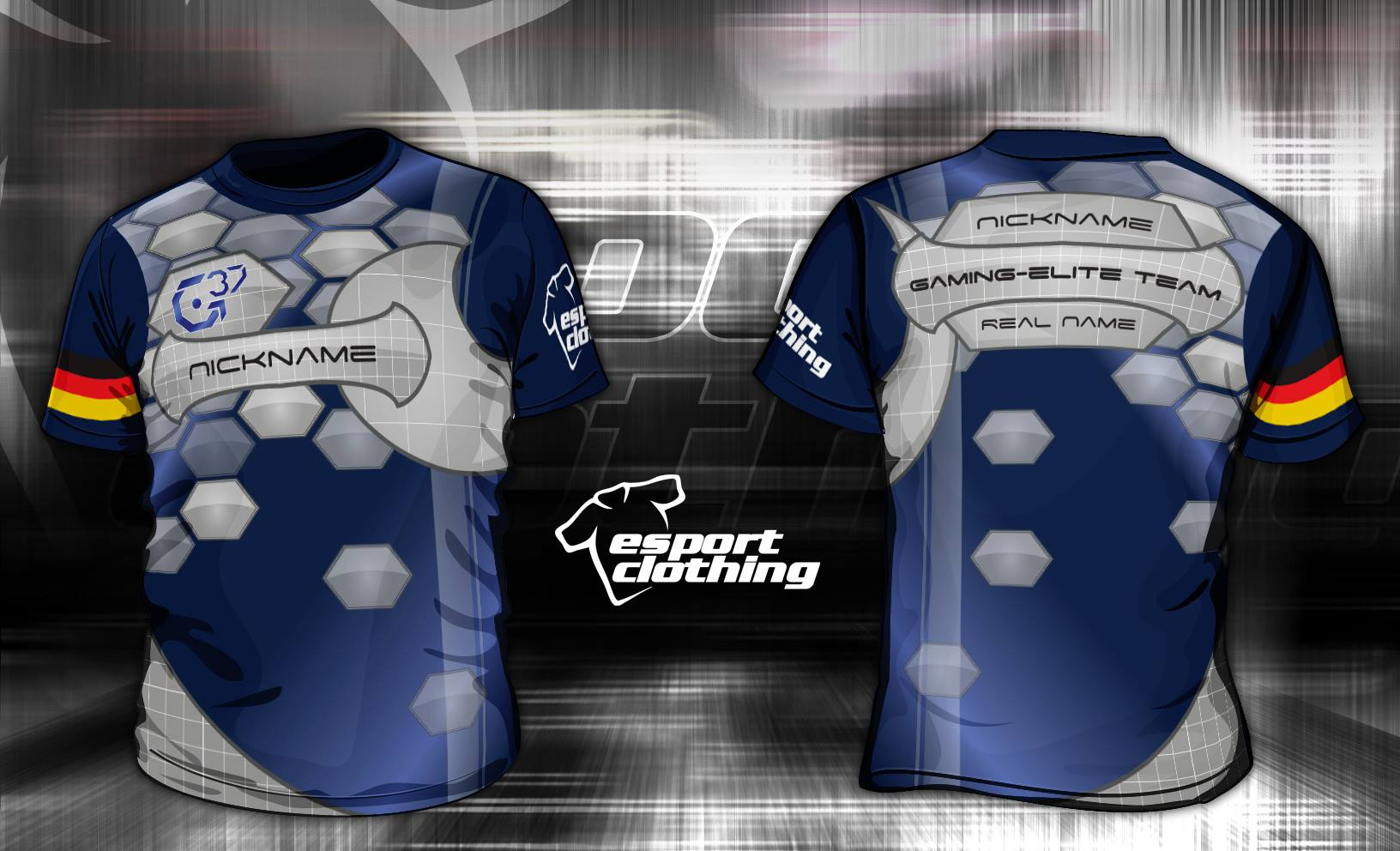 Gaming Elite Team - Athlete Short Sleeve Jersey