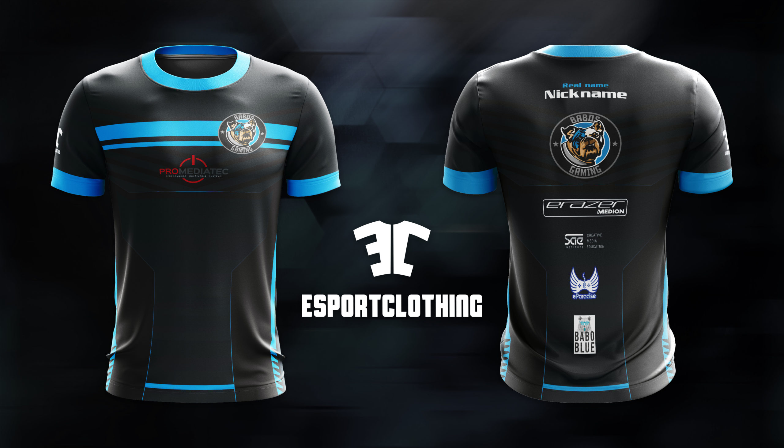 Babos Gaming - Athlete Short Sleeve Jersey