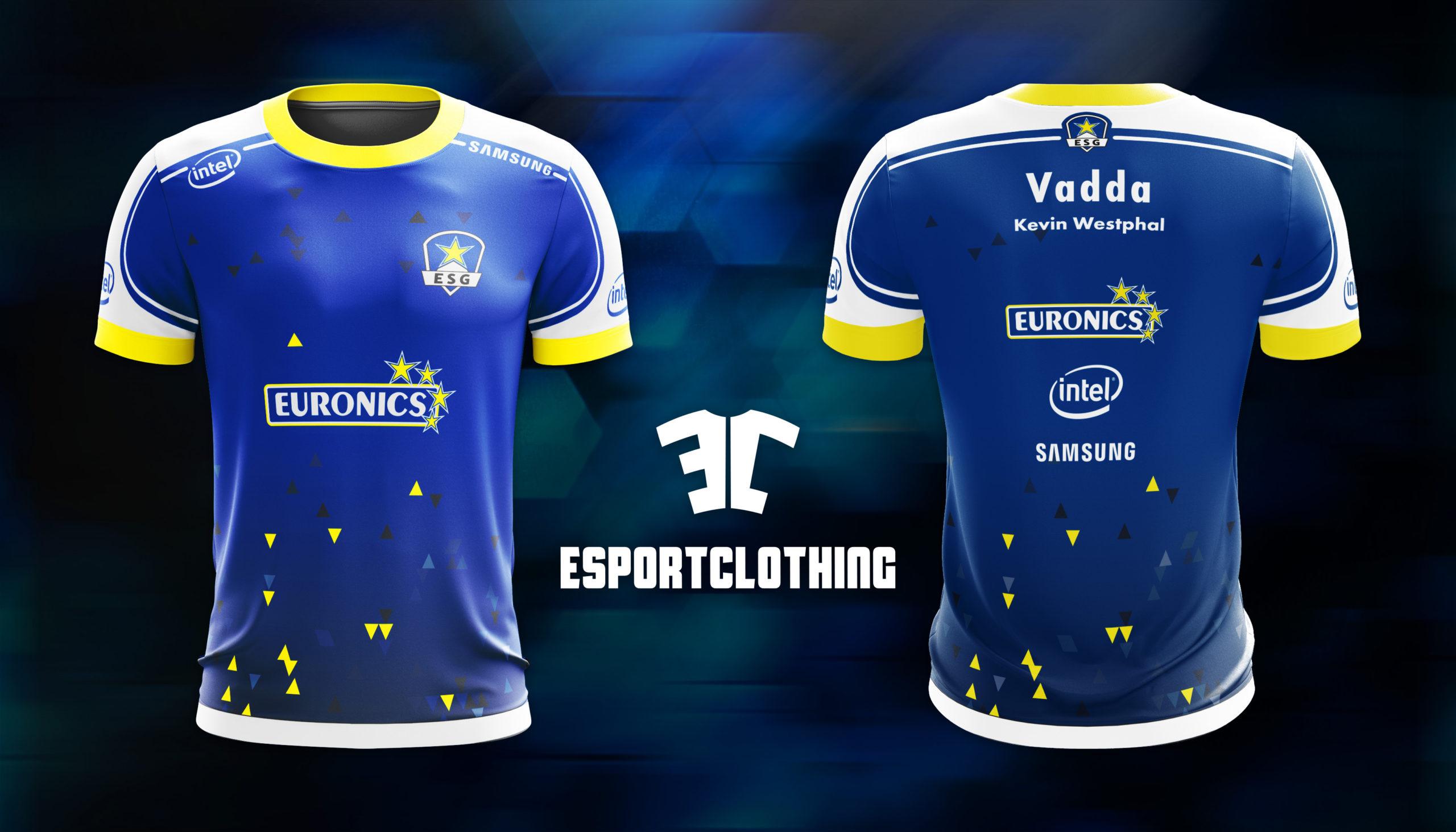 Euronics Gaming - Athlete Short Sleeve Jersey