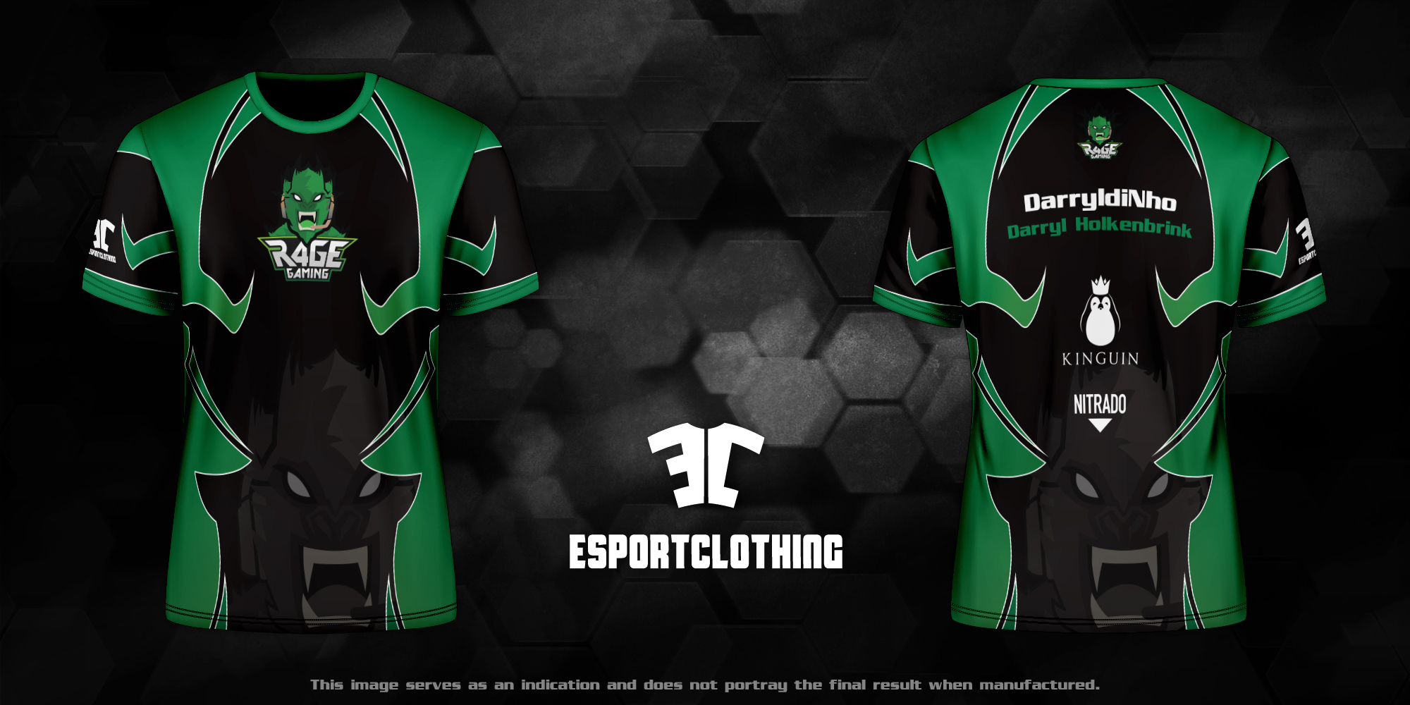 R4ge Gaming - Athlete Short Sleeve Jersey
