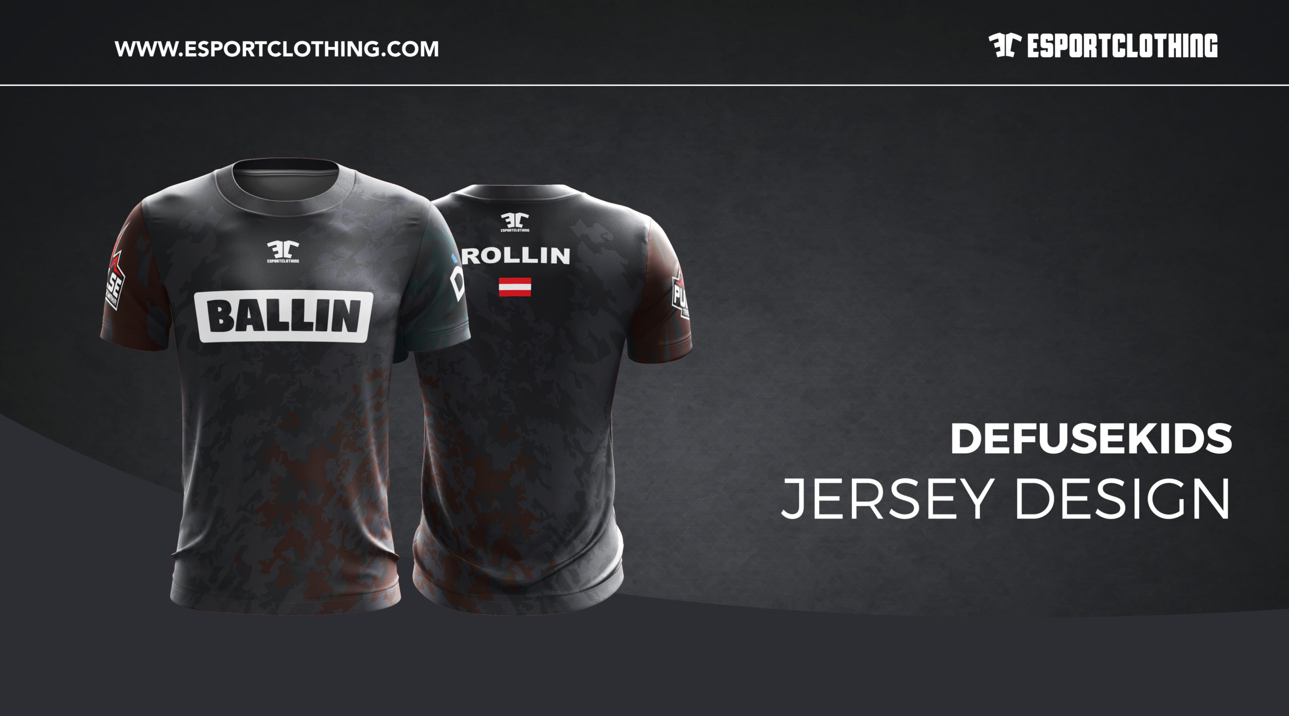 Defuse Kids - Athlete Short Sleeve Jersey